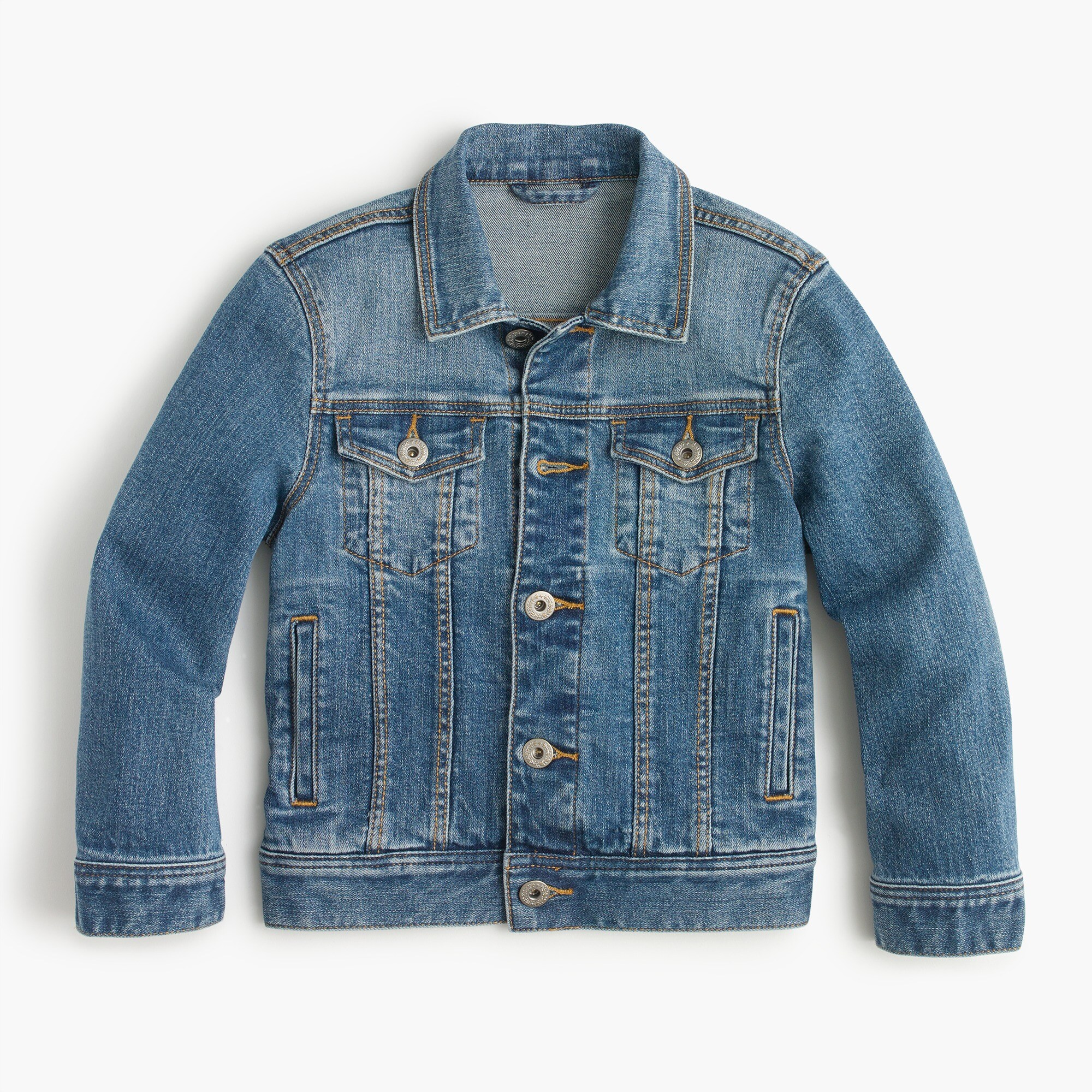kids' denim jacket : girl denim