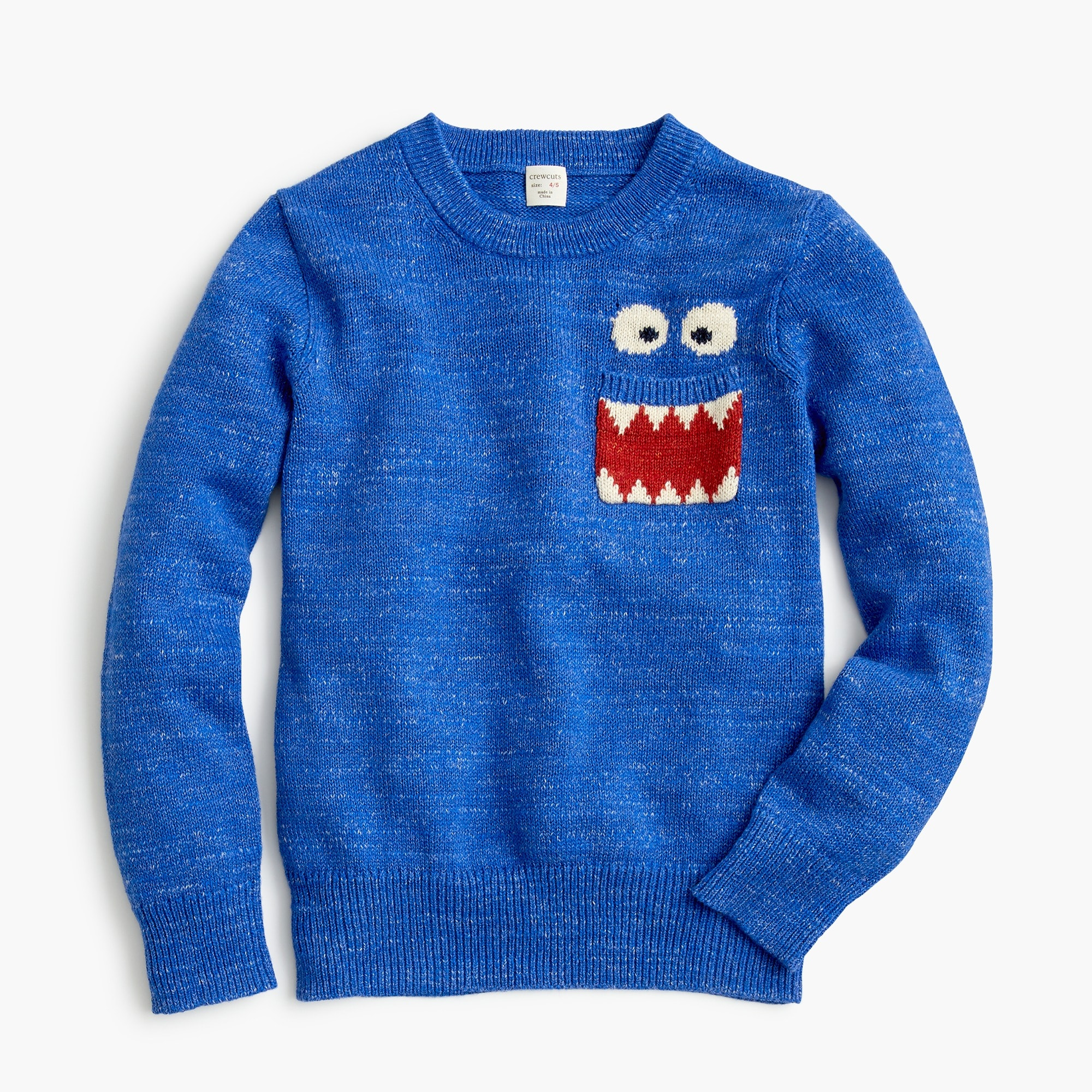 boys Max the Monster™ boys' cotton crewneck sweater