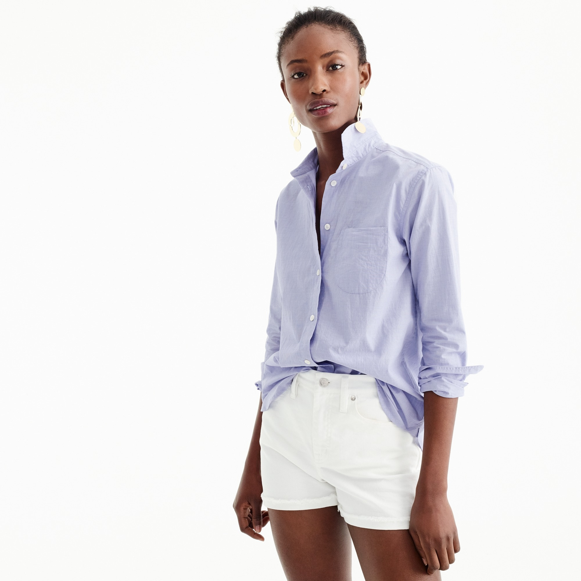 Image 1 for Boyfriend button-up shirt