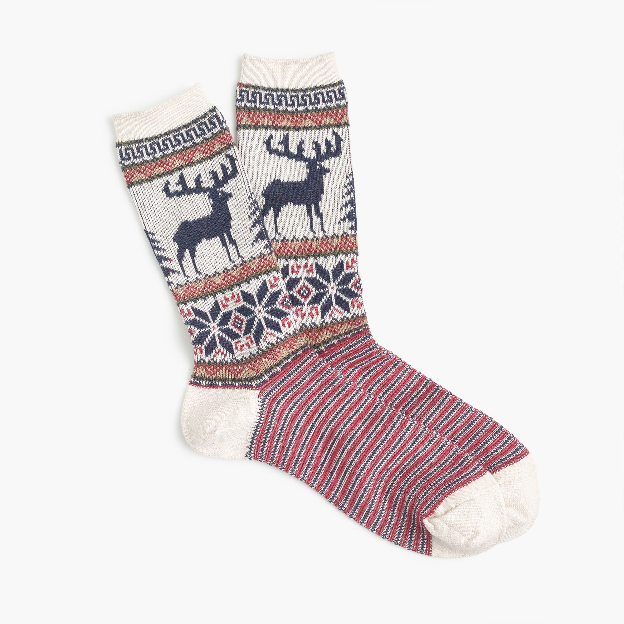 Anonymous Ism™ stag print socks men socks c