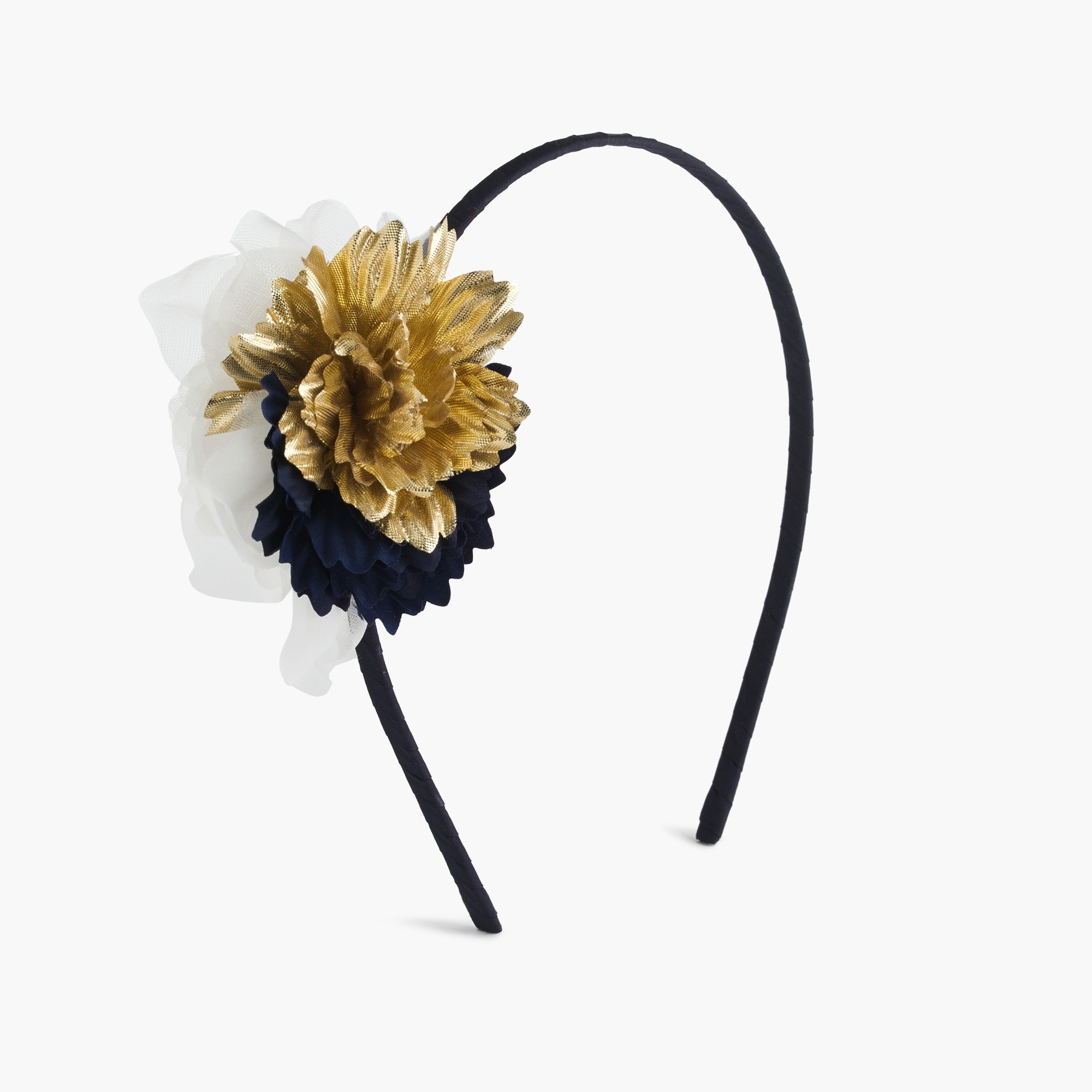 girls' flower fringe headband : girl hair accessories