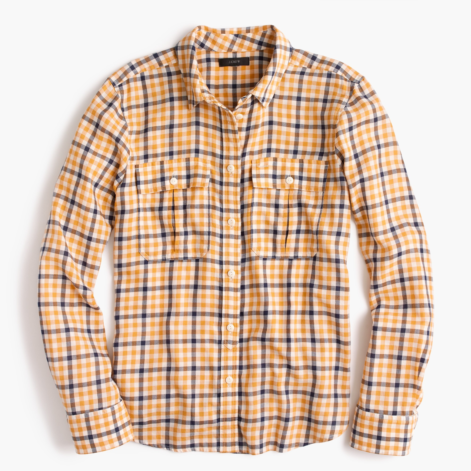 Image 1 for Boyfriend shirt in topaz plaid