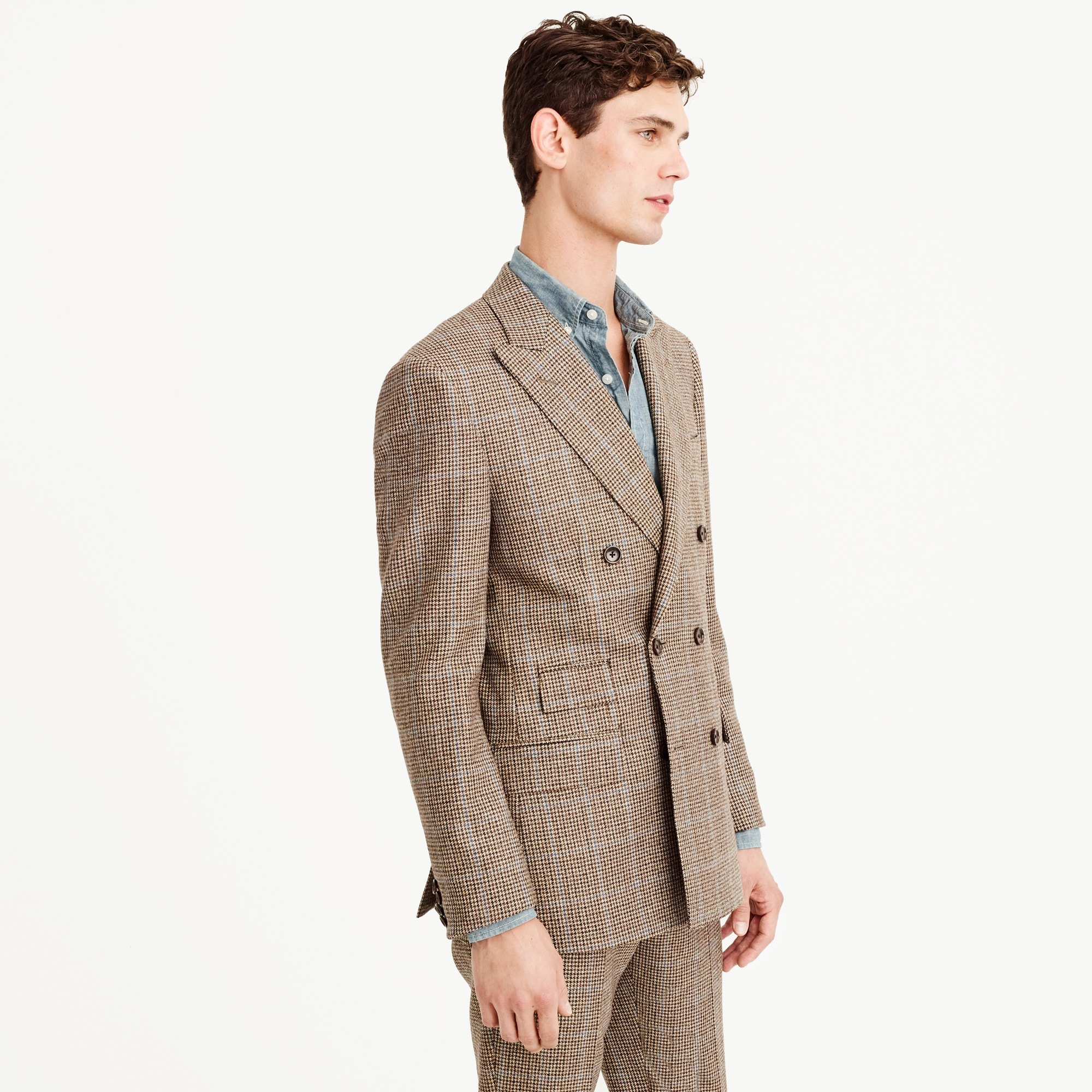 Image 6 for Paul Feig™ for J.Crew peak-lapel suit jacket in check