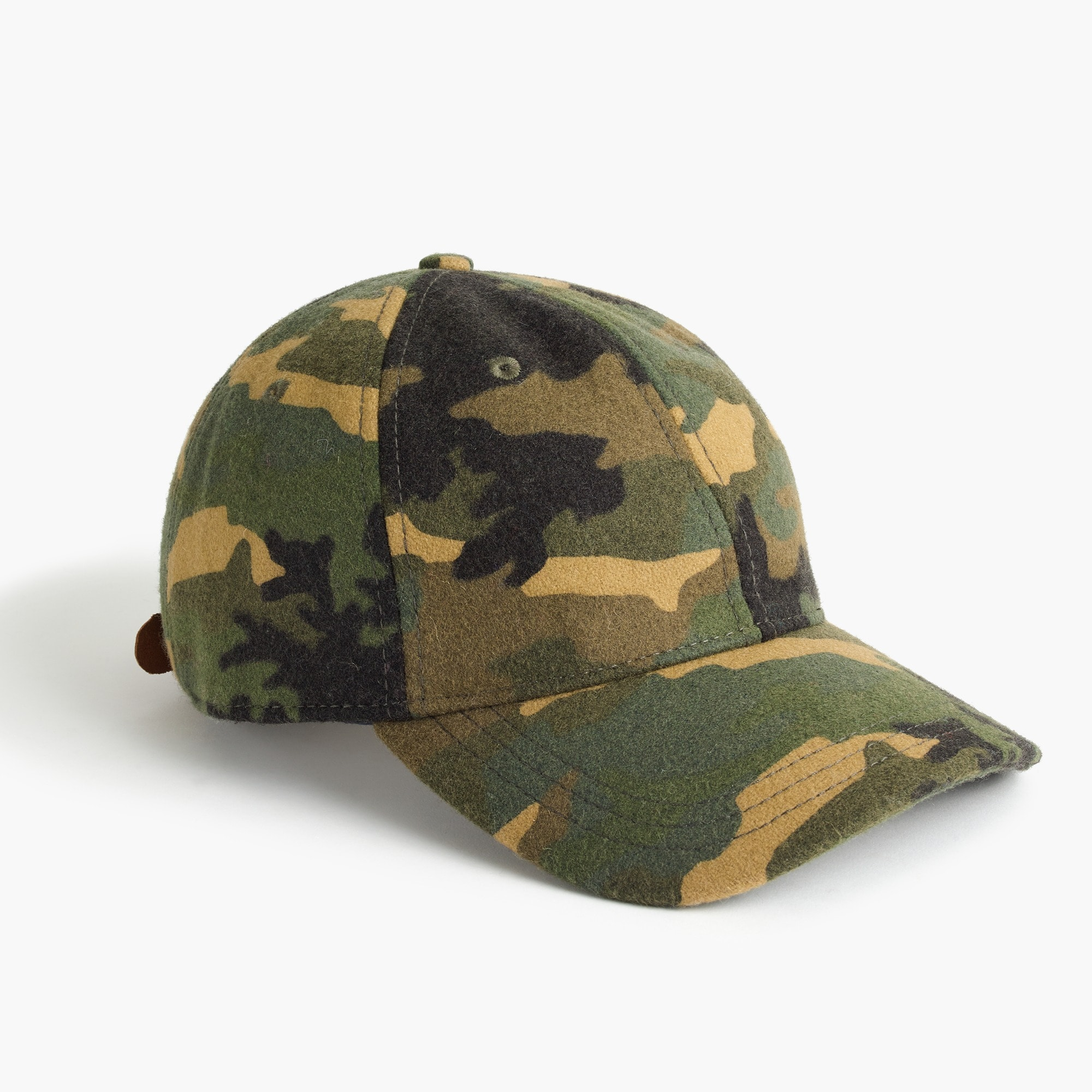 men's wallace & barnes wool ball cap in camo