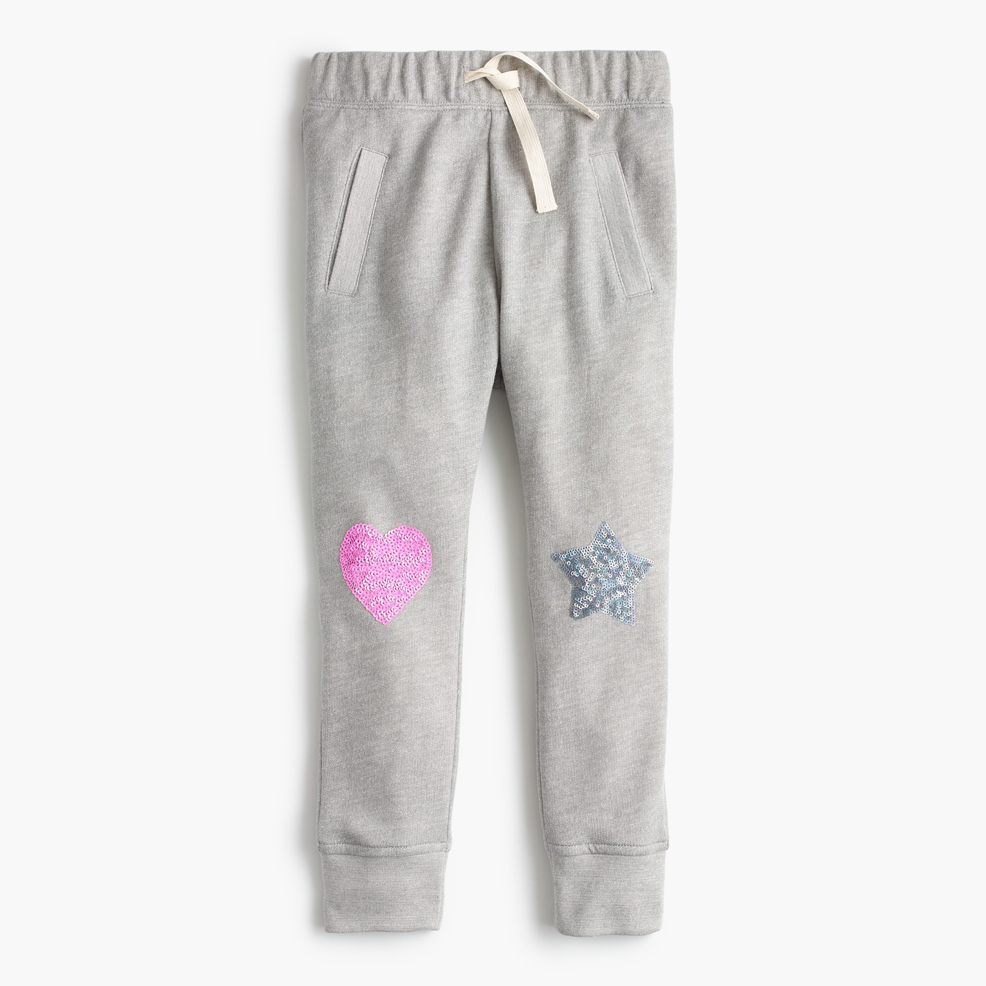 girls' sequin sweatpant : girl sweatpants