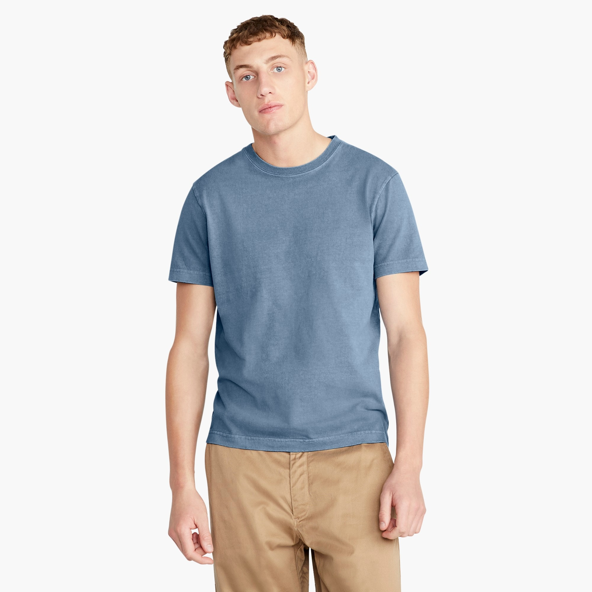 Tall heavyweight cotton T-shirt