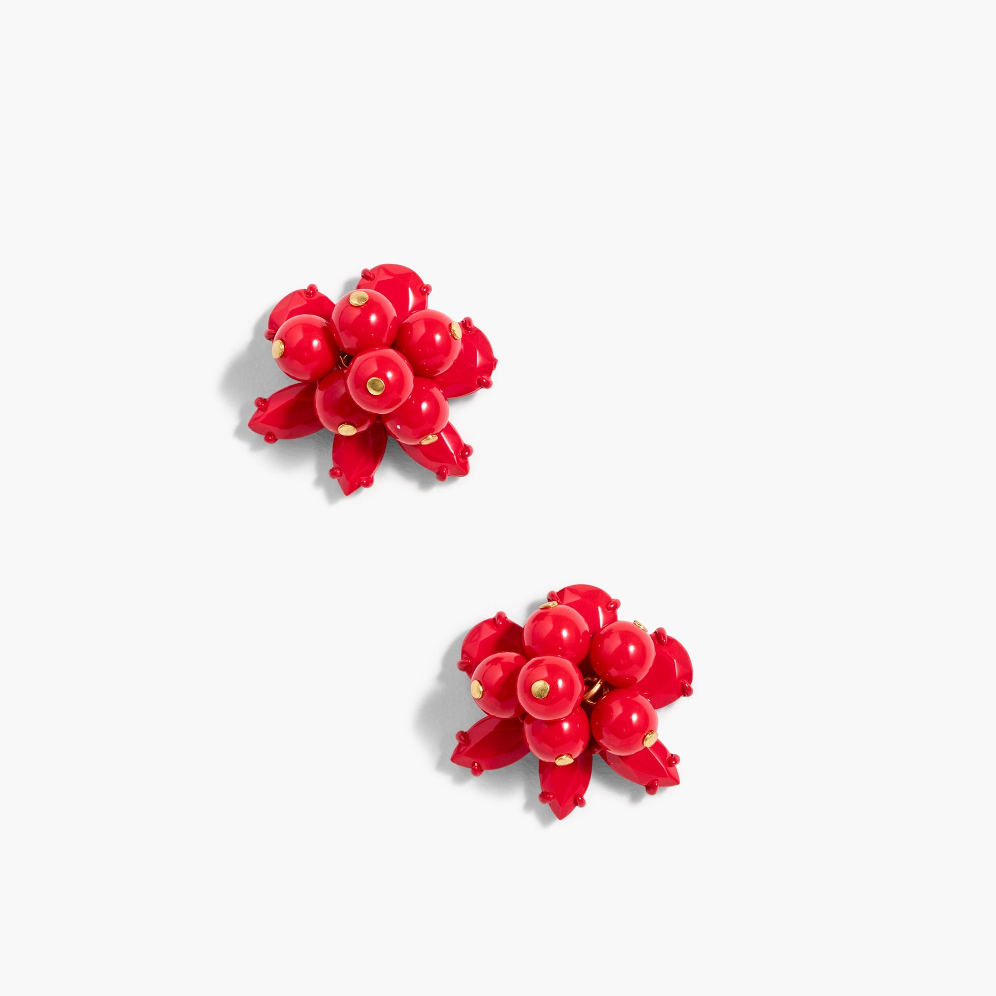 colorful cluster earrings : women earrings