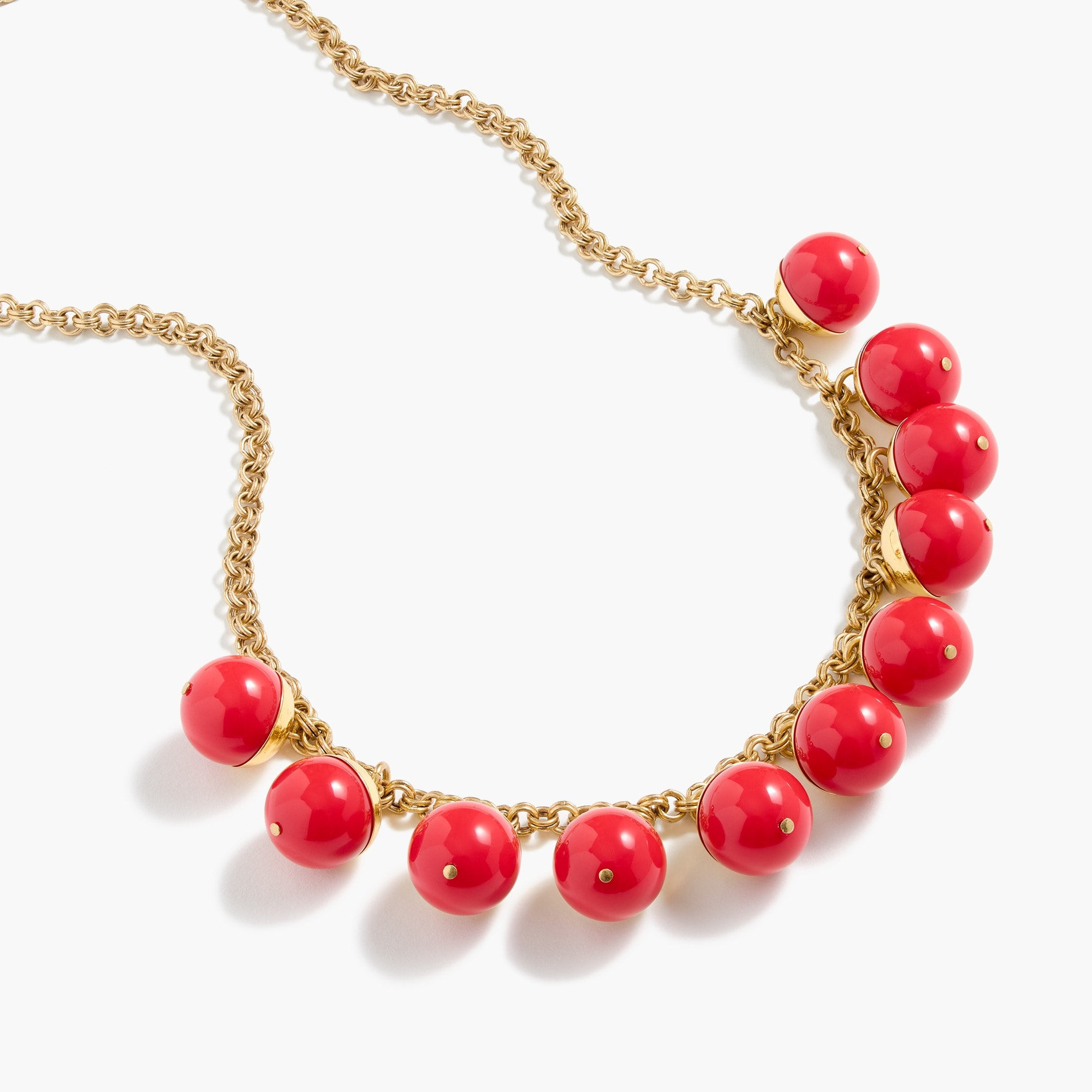 beaded gold necklace : women necklaces