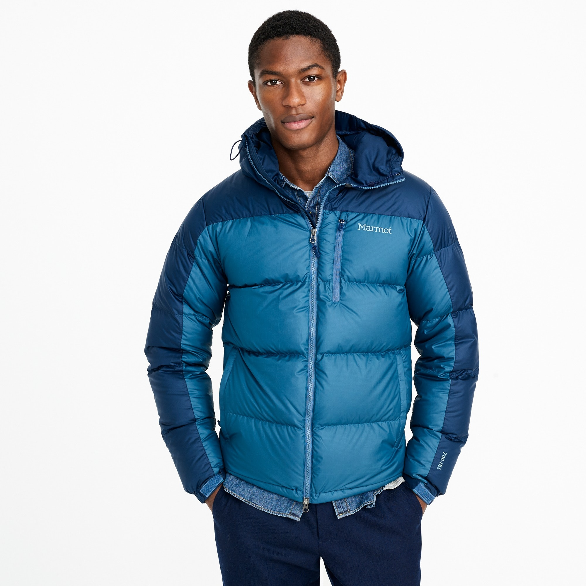 Marmot® for J.Crew Guides down hoodie