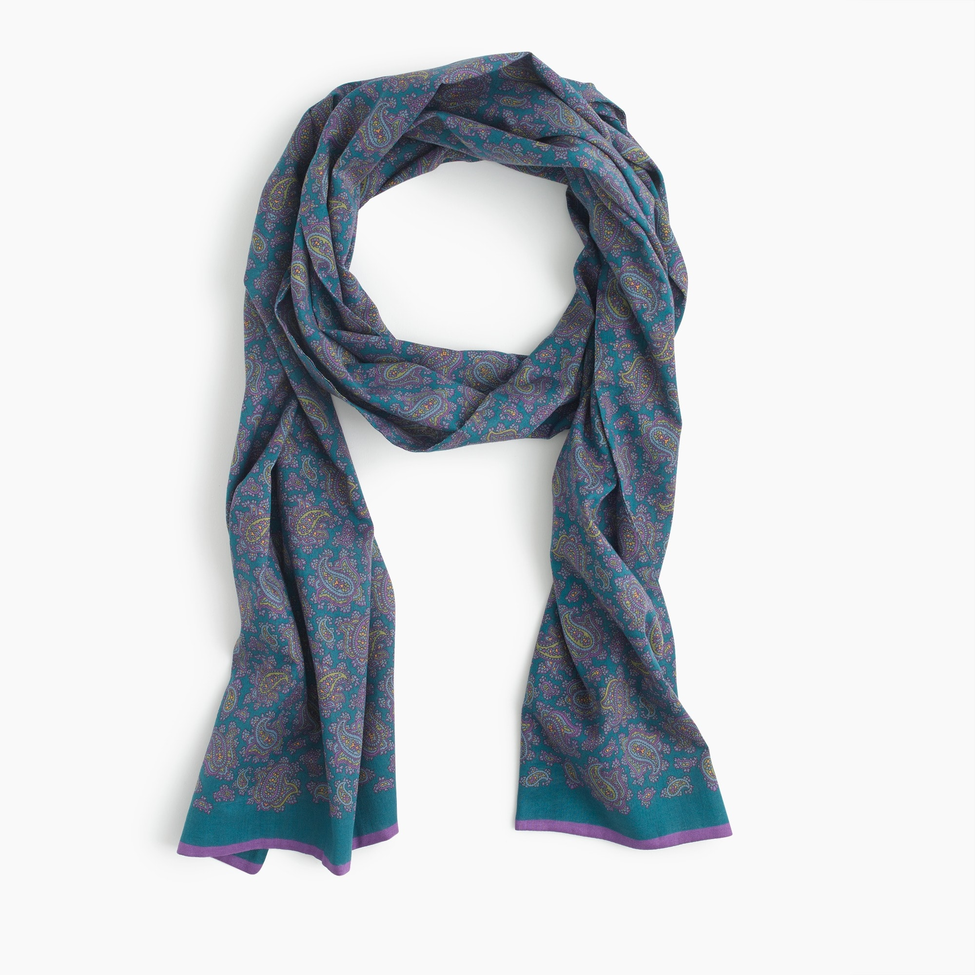 Drake's® for J.Crew cotton scarf men accessories c