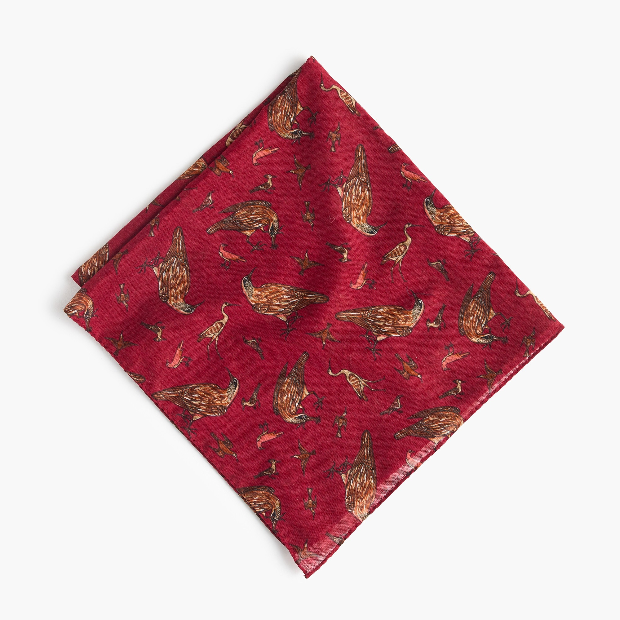 Drake's® for J.Crew cotton pocket square