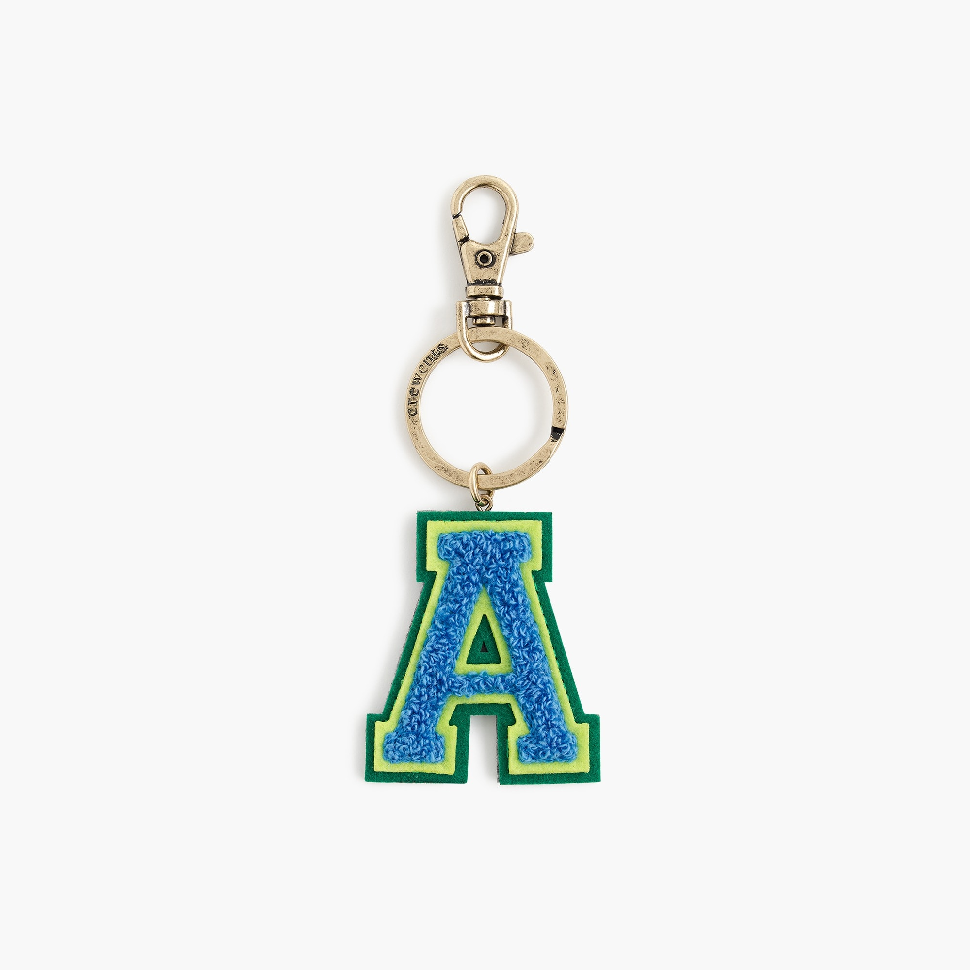 Kids' letter key chain boy accessories c