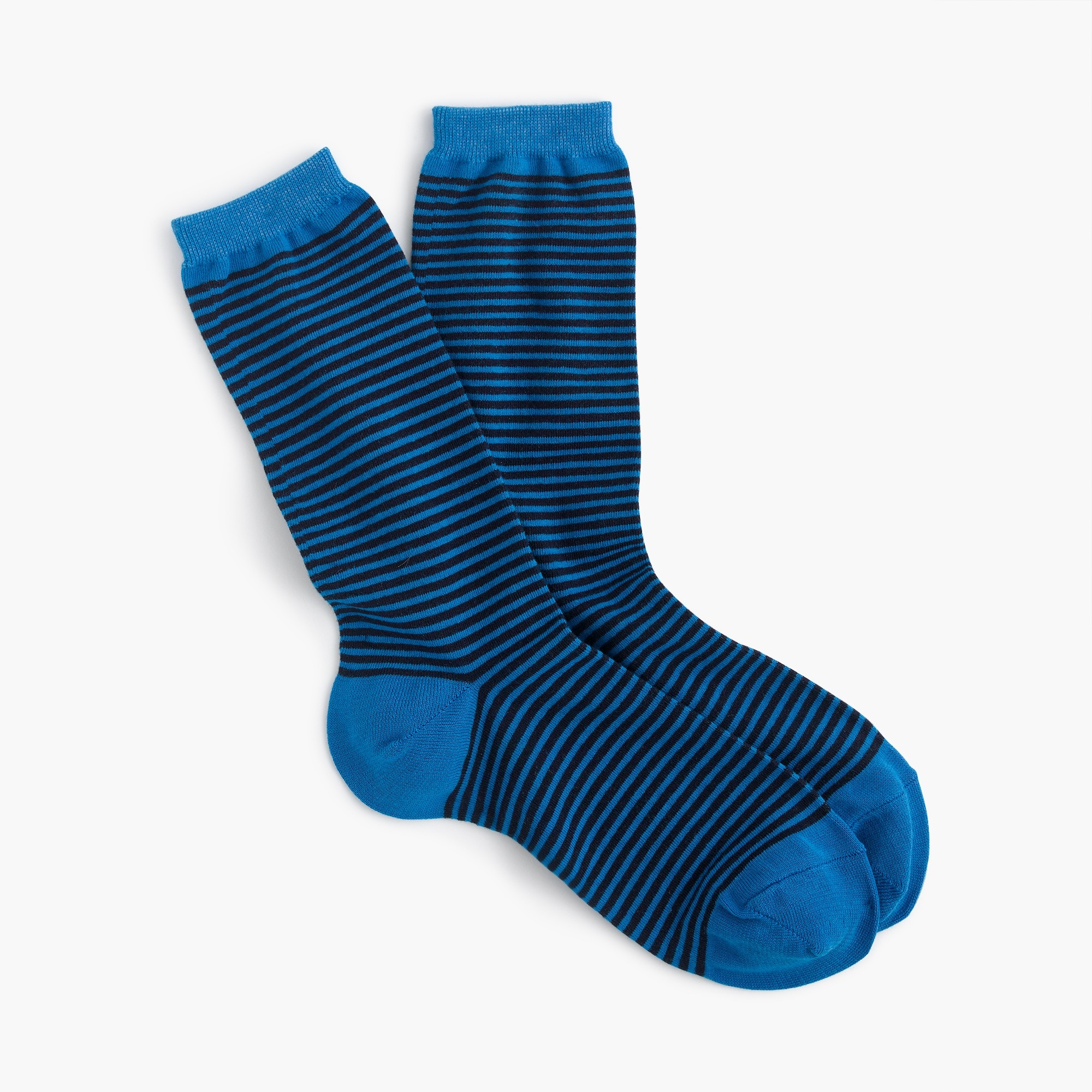 Image 1 for Trouser socks in thin stripes