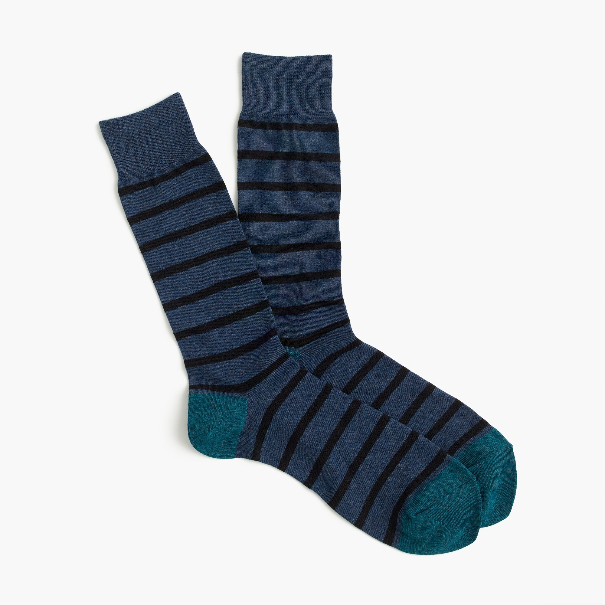 Narrow striped socks men socks c