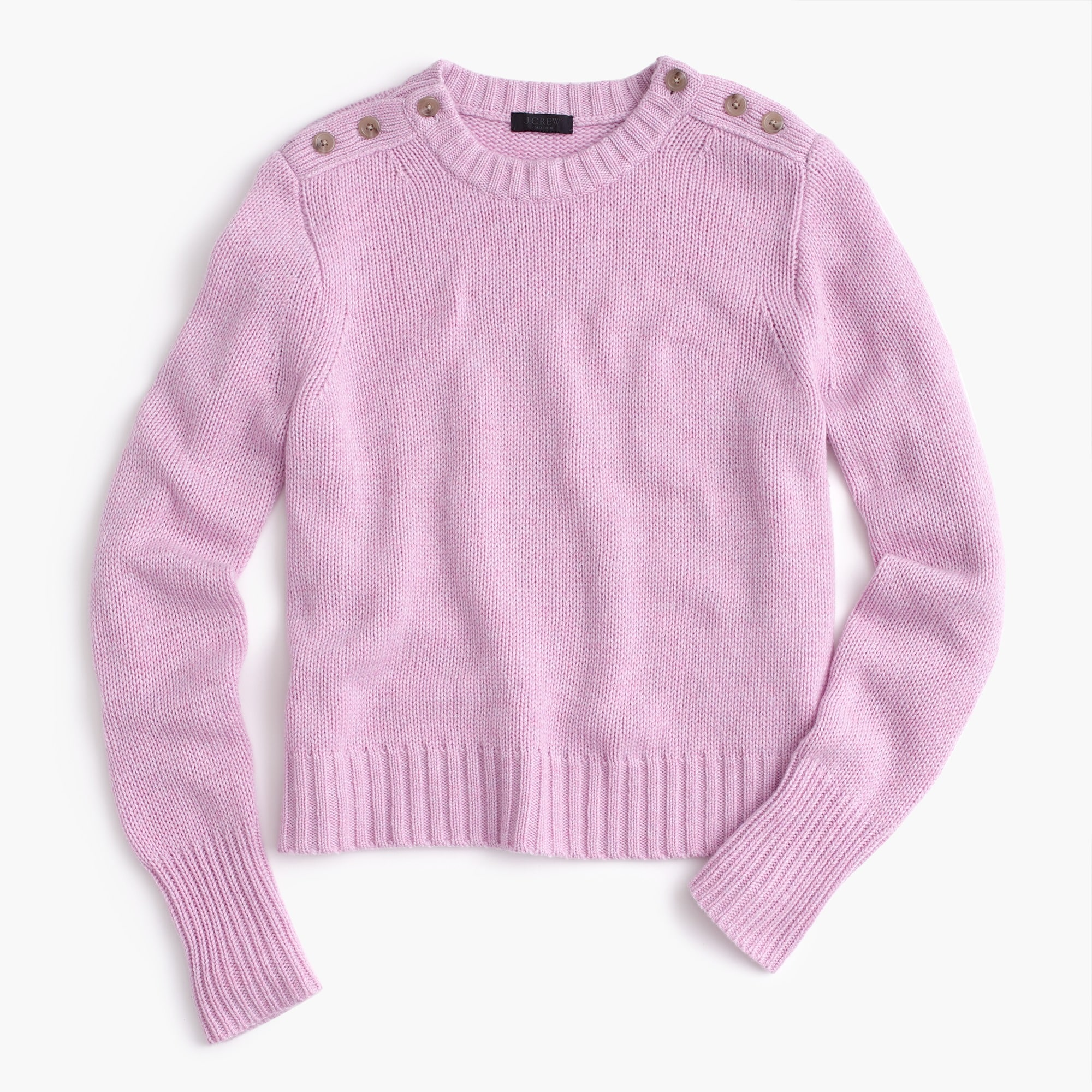 Image 2 for Cropped sweater in everyday cashmere