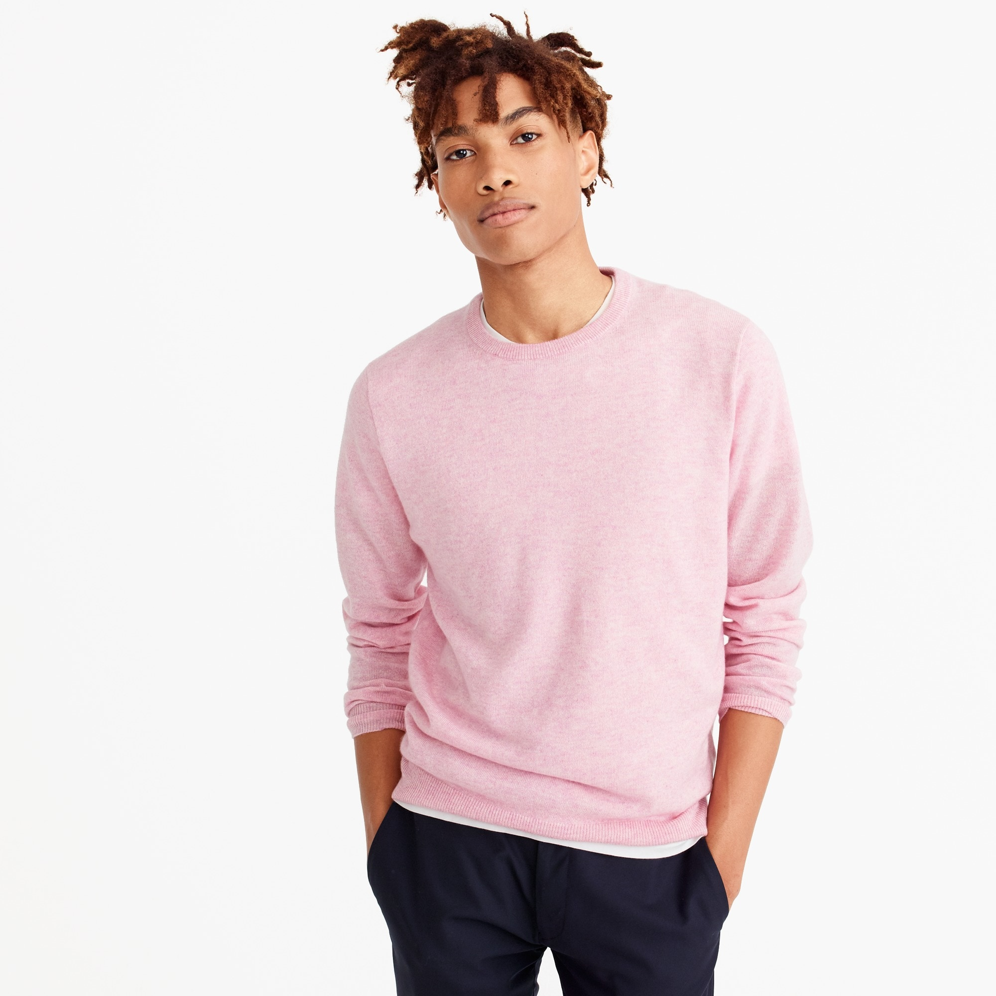 mens Everyday cashmere crewneck sweater