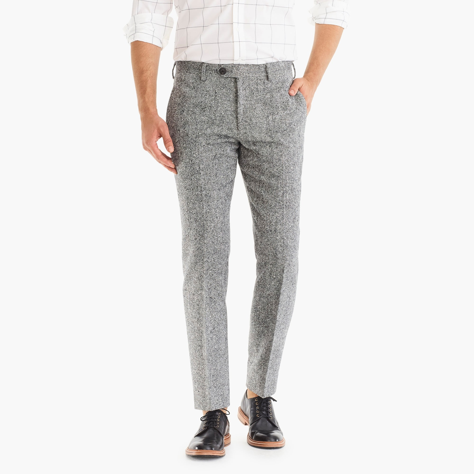 mens Ludlow slim-fit suit pant in Magee tweed