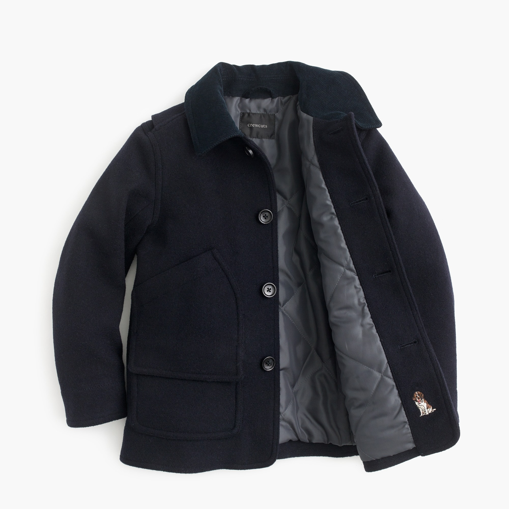 Boys' wool Barn Jacket™