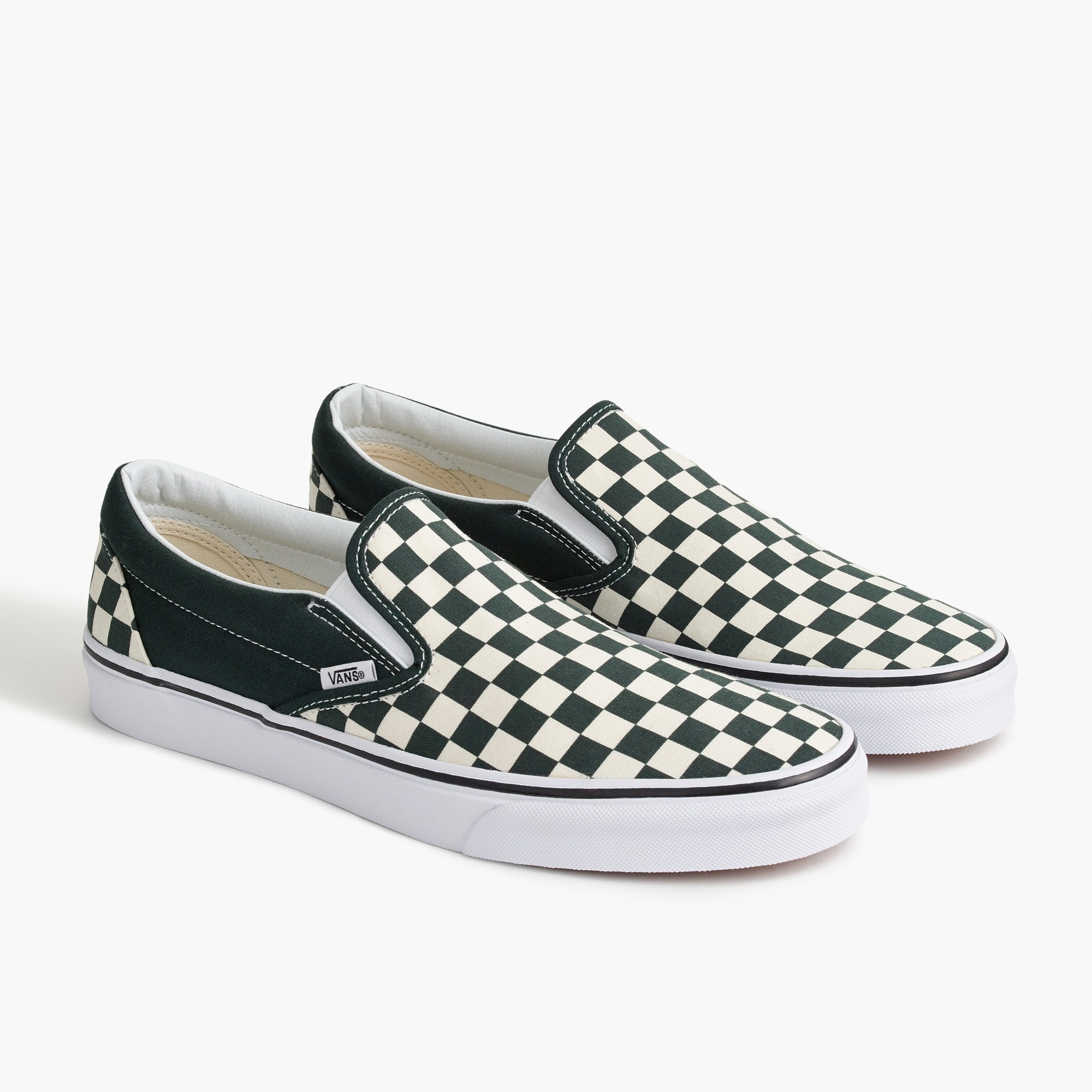 mens Vans®slip-on sneakers in checkerboard