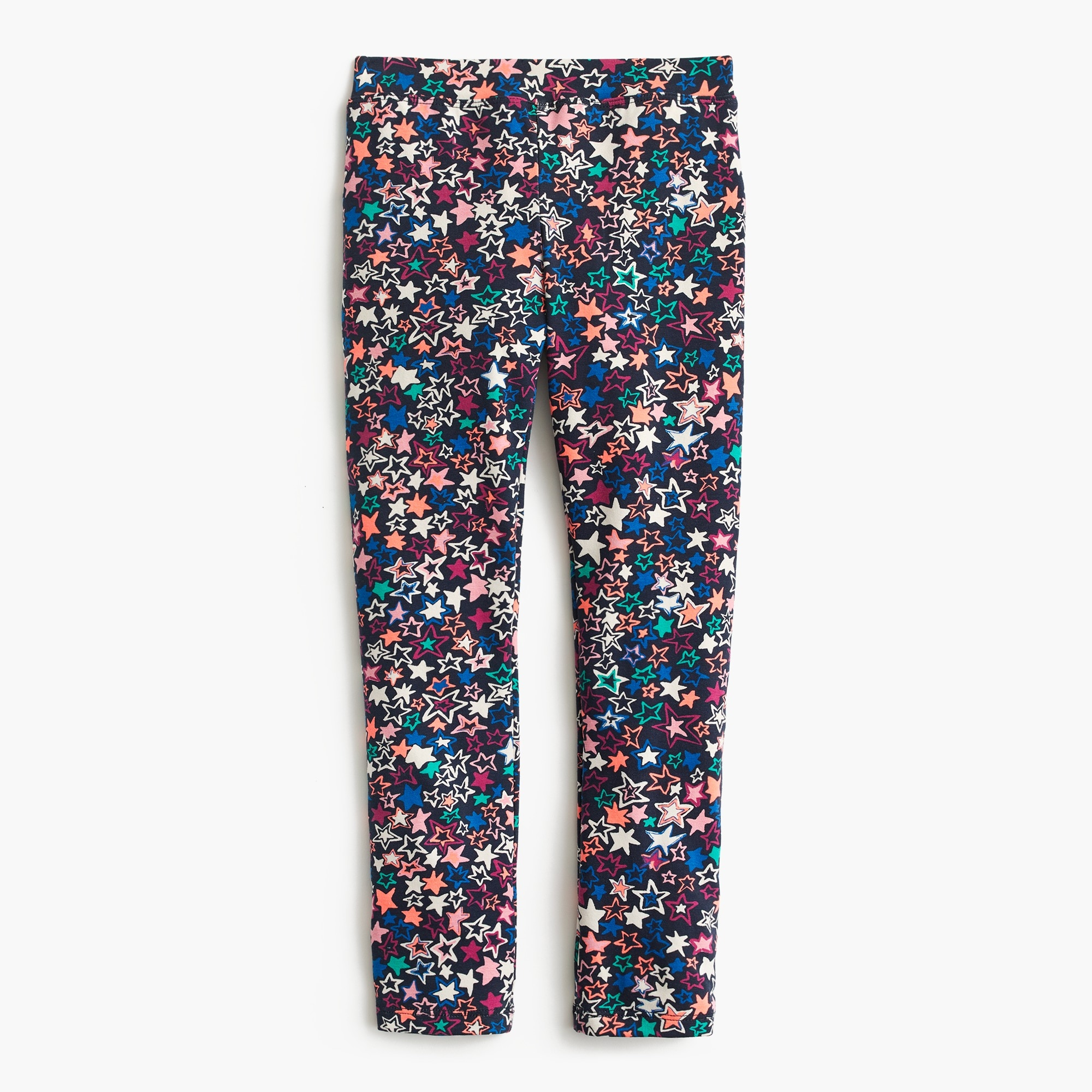 girls' everyday leggings in stars : girl leggings