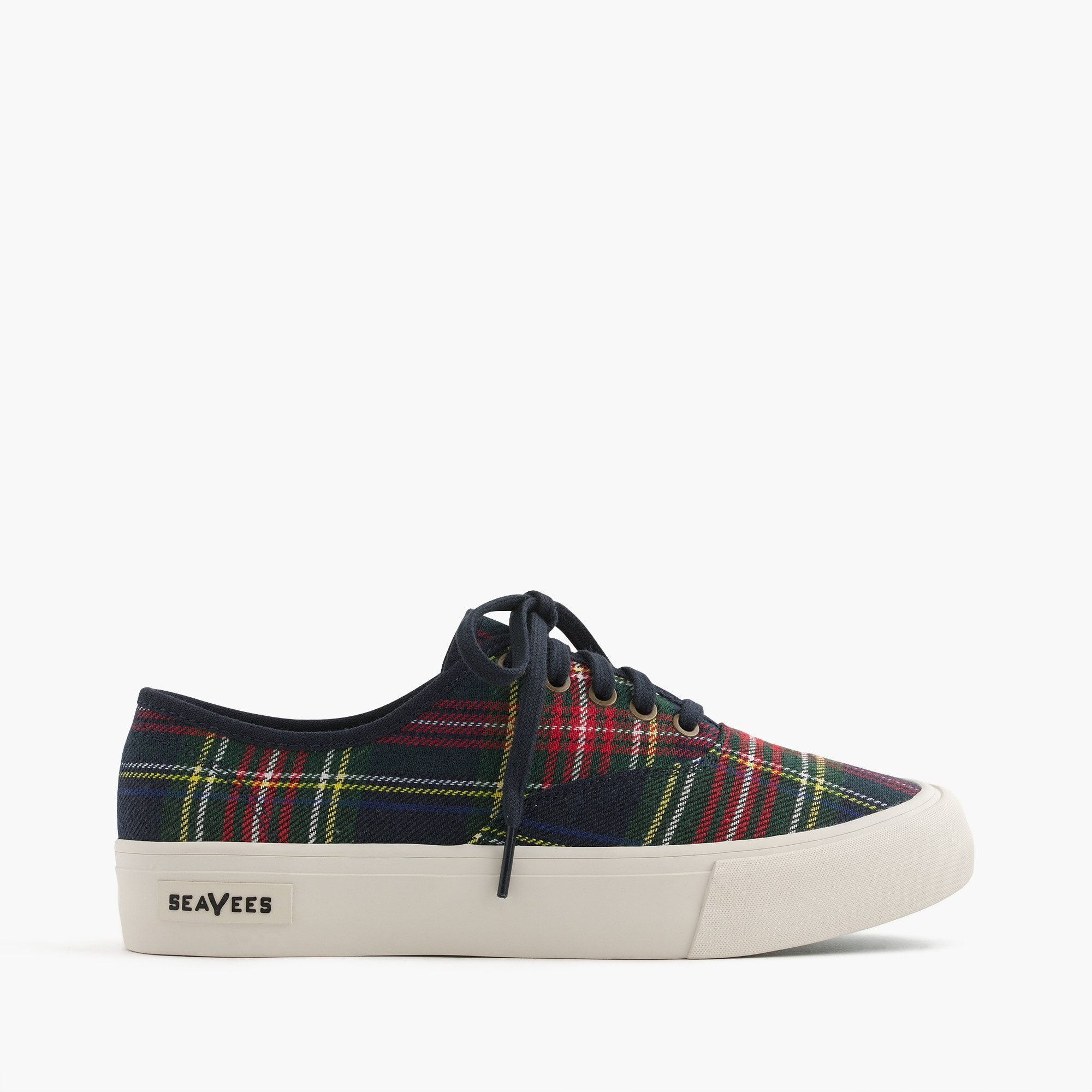 SeaVees® for J.Crew Legend sneakers in tartan