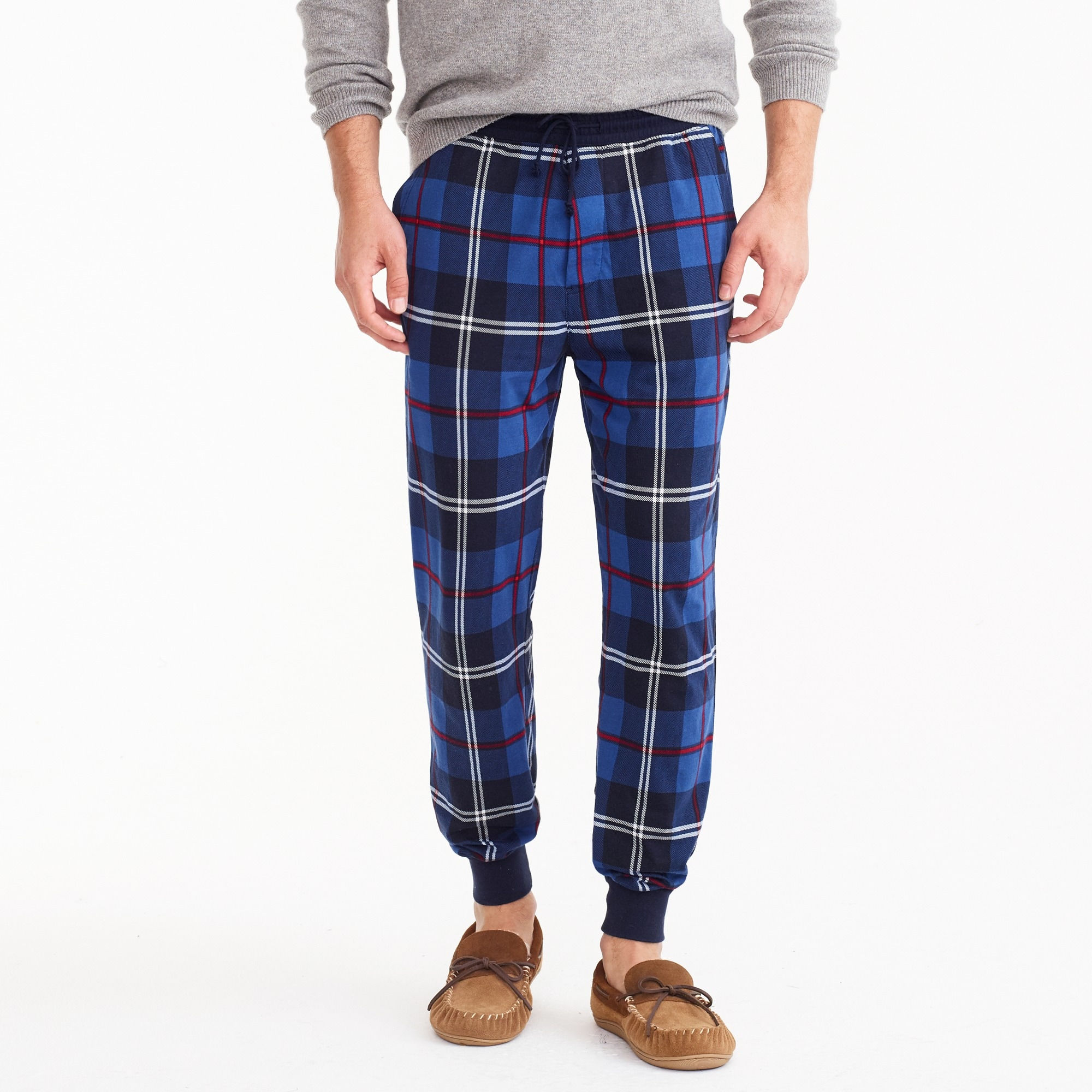 men's flannel lounge pant - men's lounge