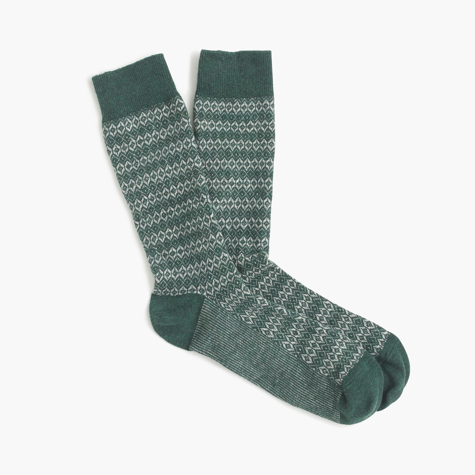 men's diamond weave socks - men's accessories
