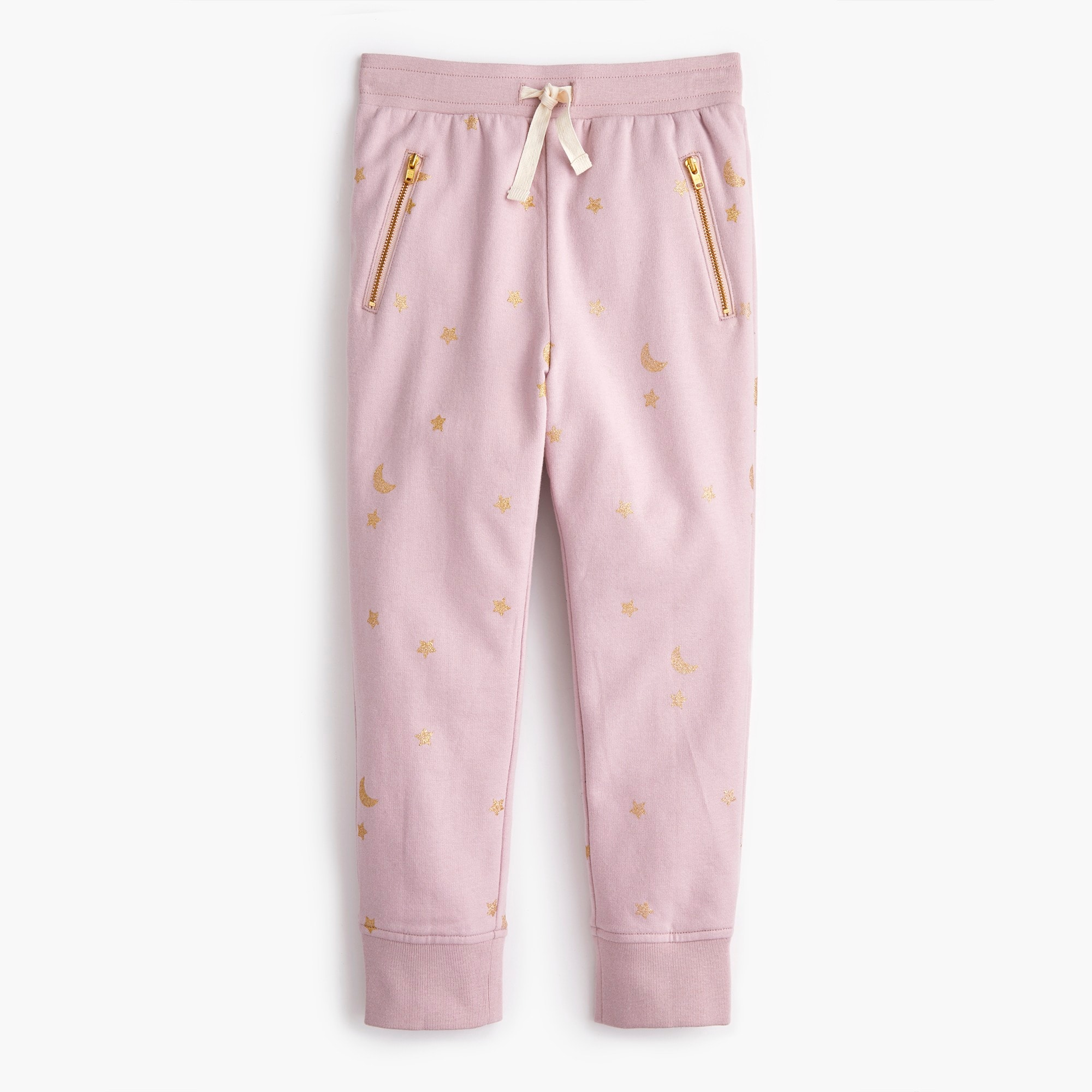 girls Girls' star-print sweatpants