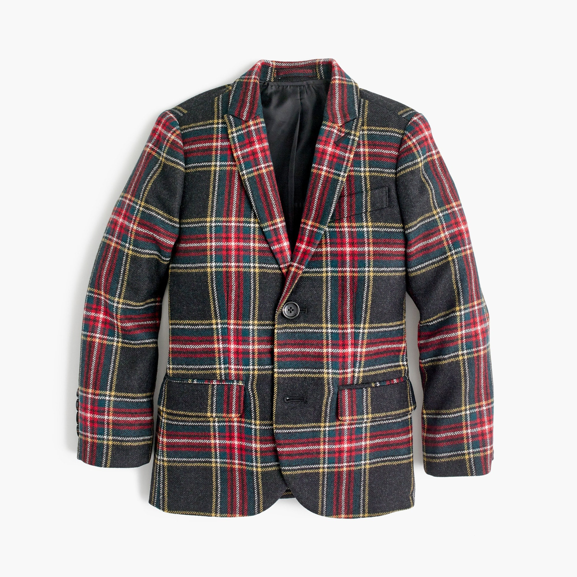 Image 1 for Boys' Ludlow suit jacket in Stewart plaid