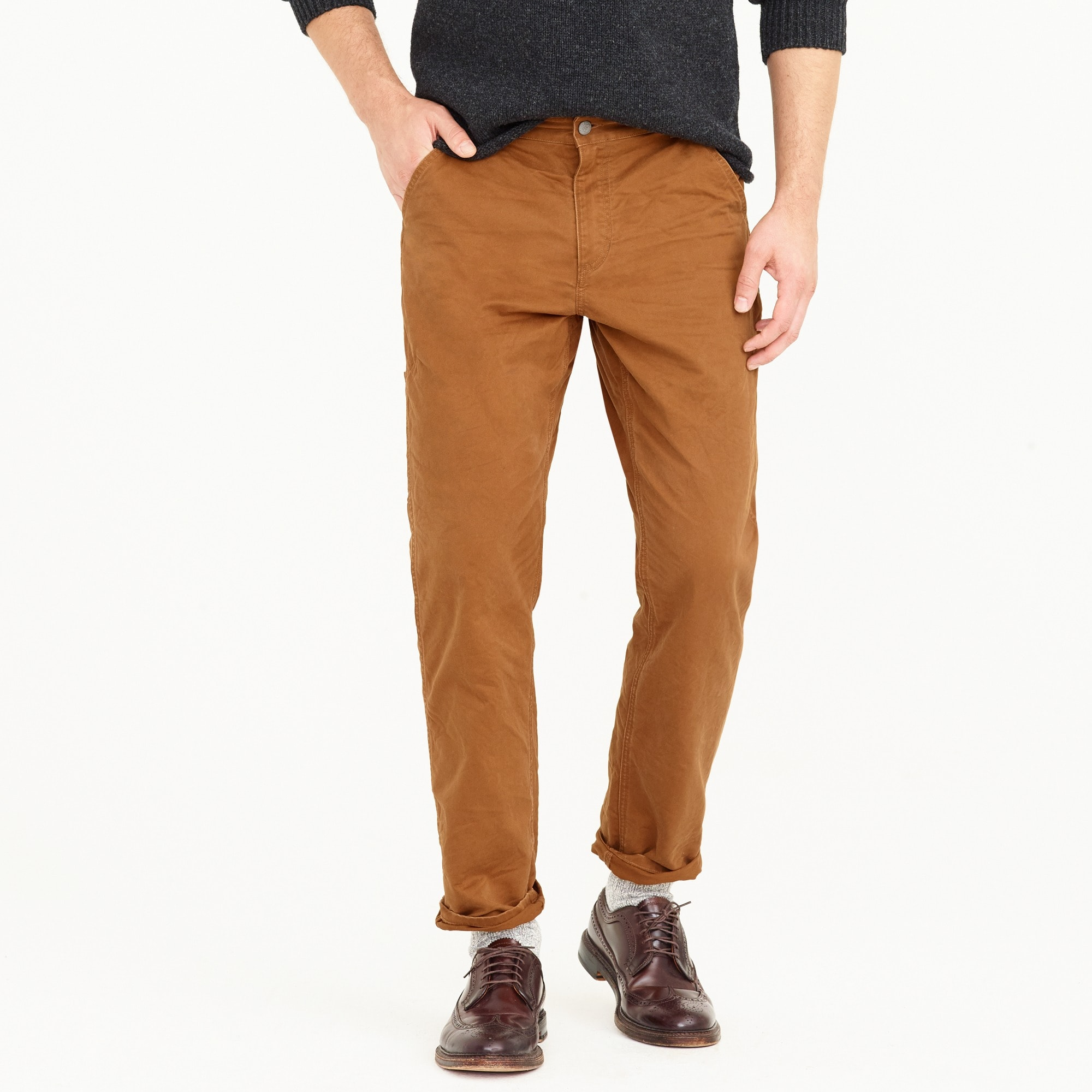 men's 1040 athletic-fit carpenter pant in broken-in chino