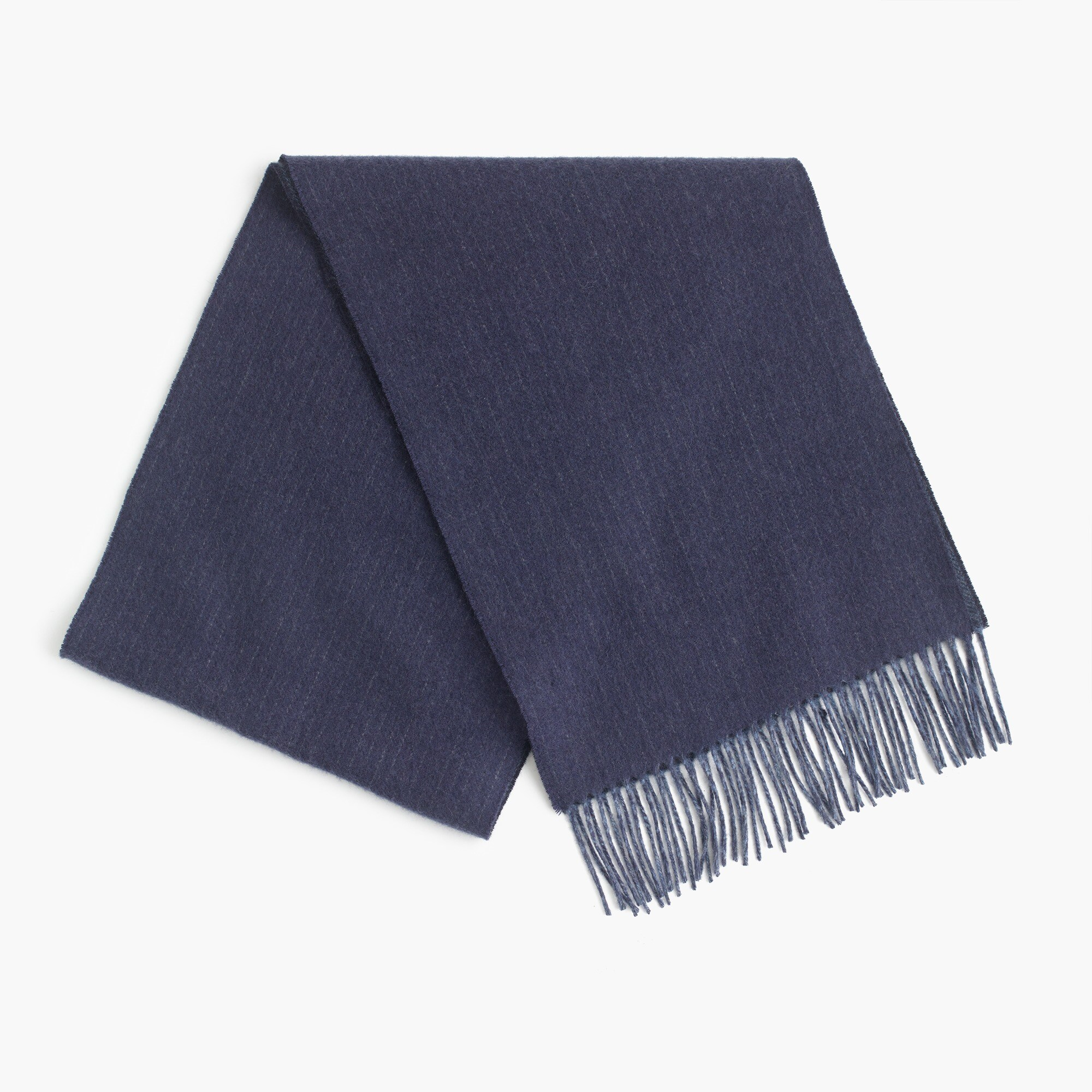 Image 1 for Dual-patterned cashmere scarf