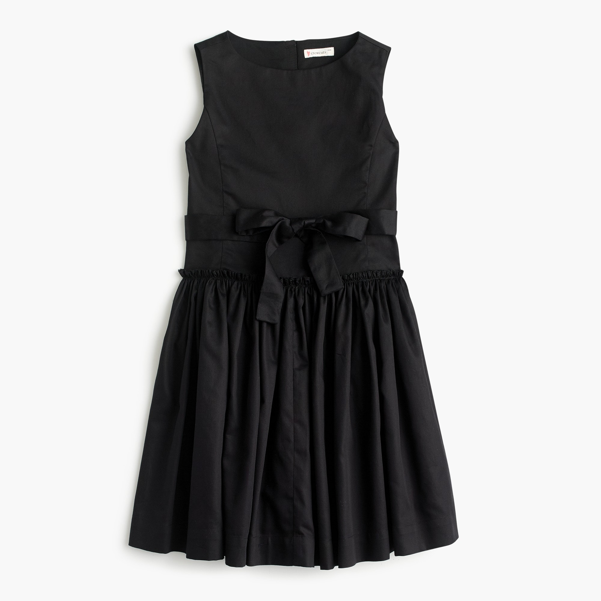 Girls' tie-waist dress girl dresses c
