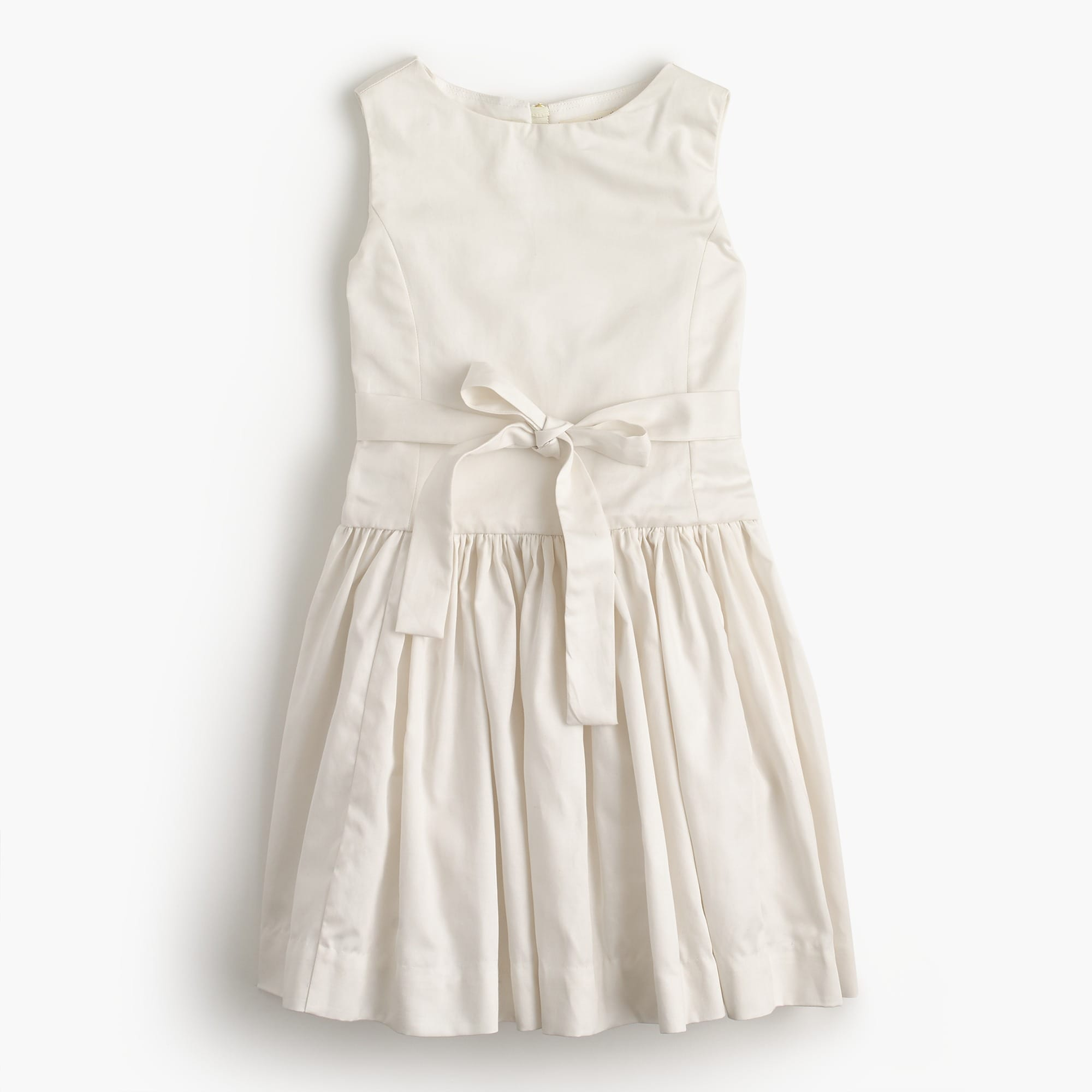 Girls' tie-waist dress girl new arrivals c