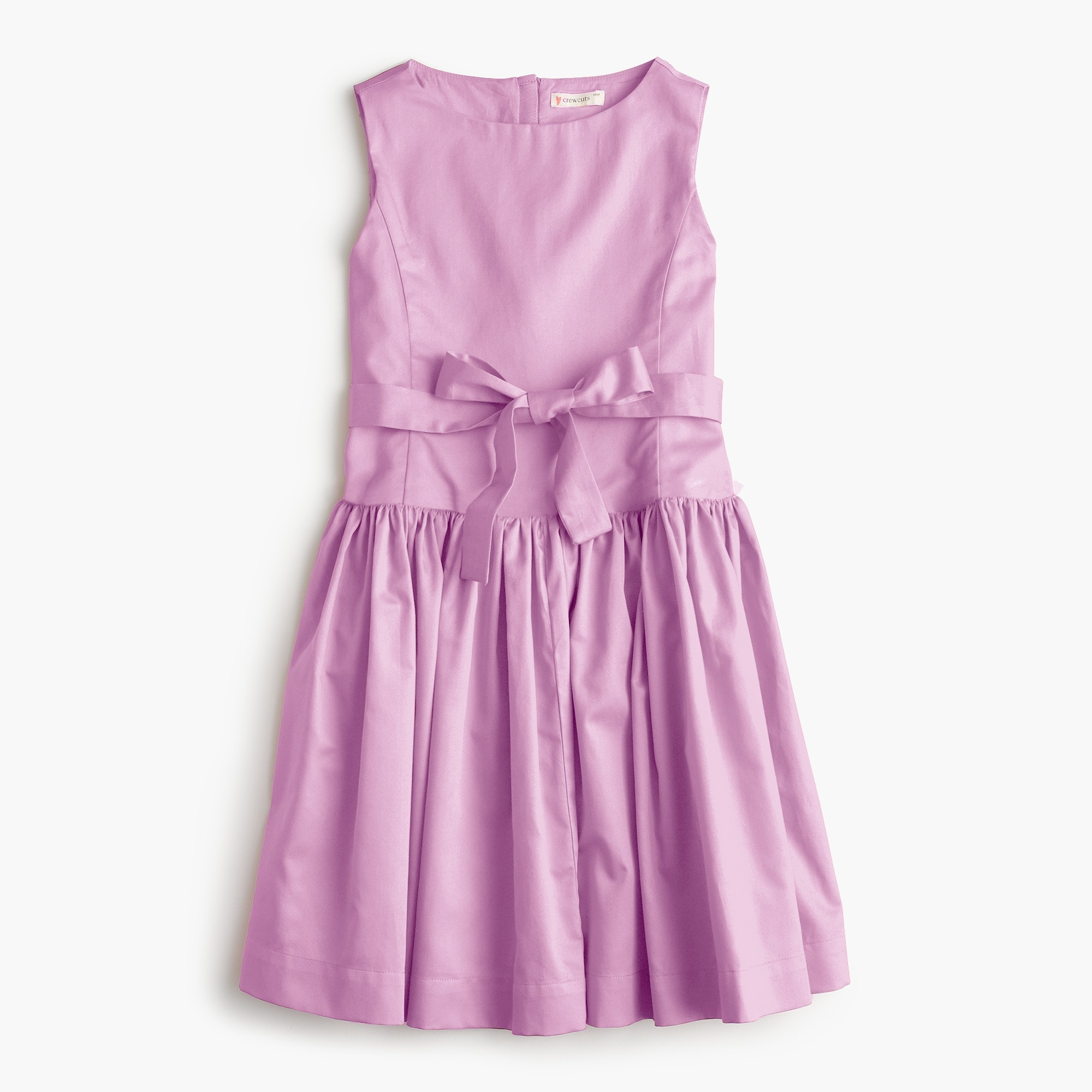 Girls' tie-waist dress girl dresses & jumpsuits c