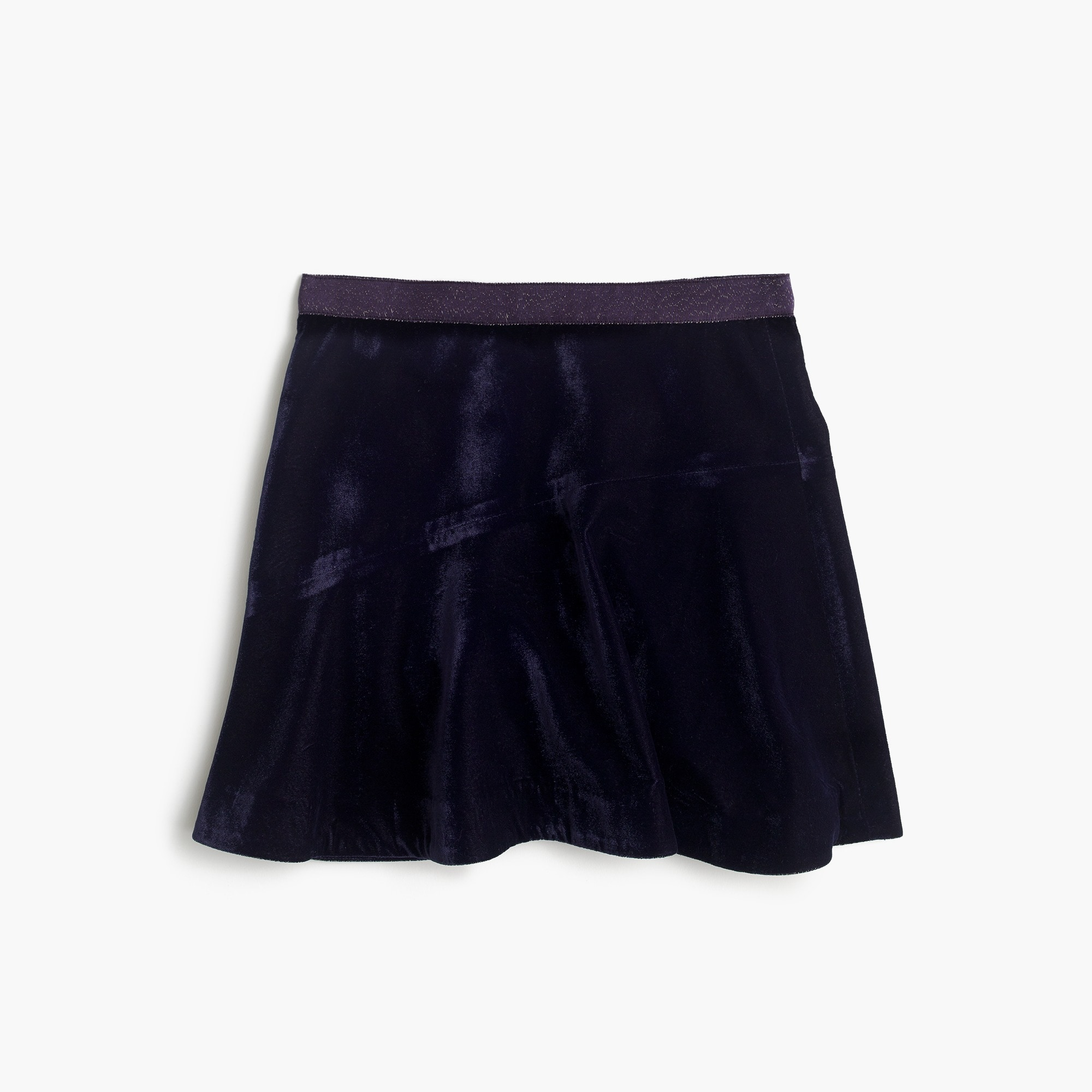 girls' velvet skirt : girl skirts