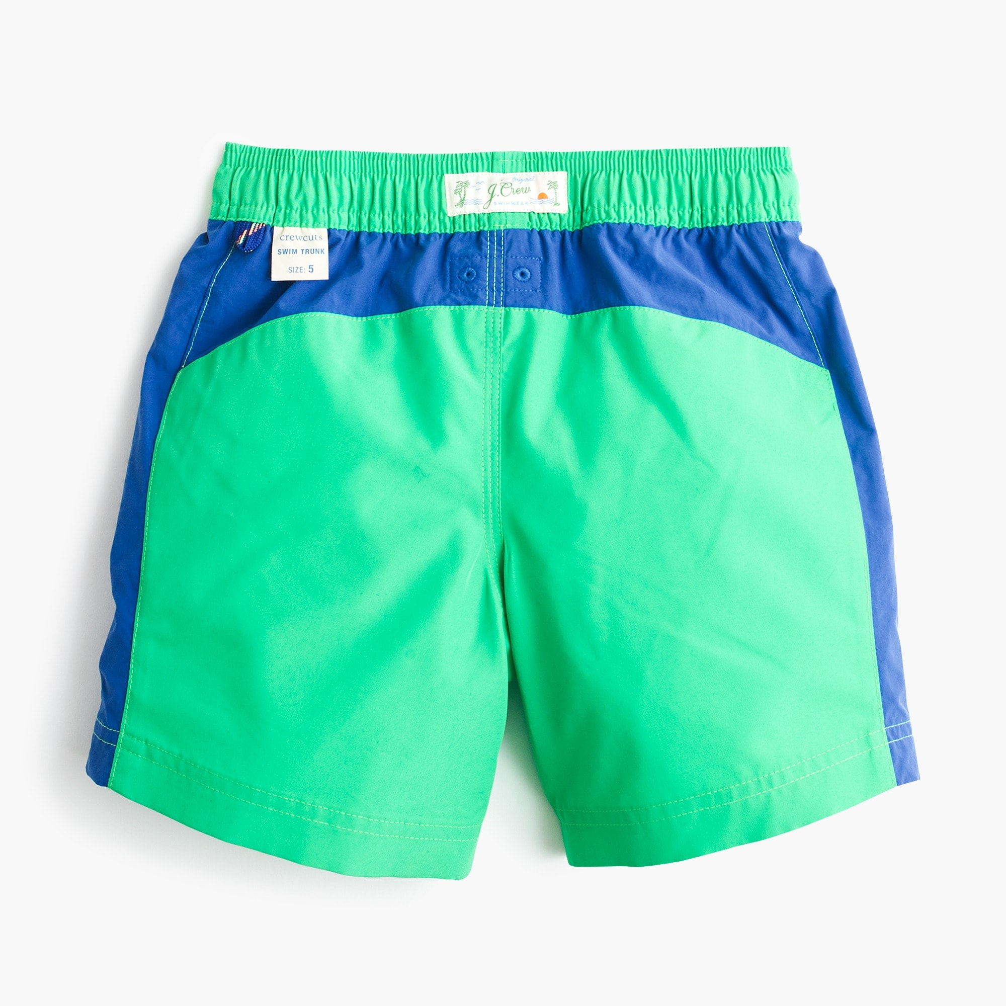 Image 2 for Boys' swim trunk in side stripe