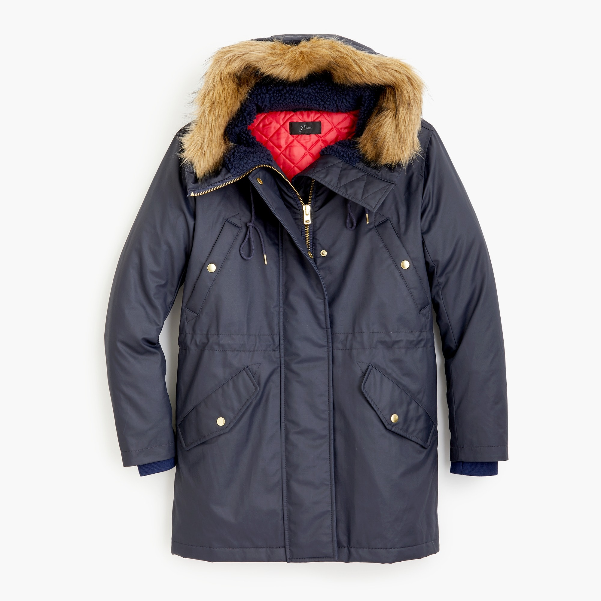 Petite perfect winter parka with eco-friendly Primaloft®