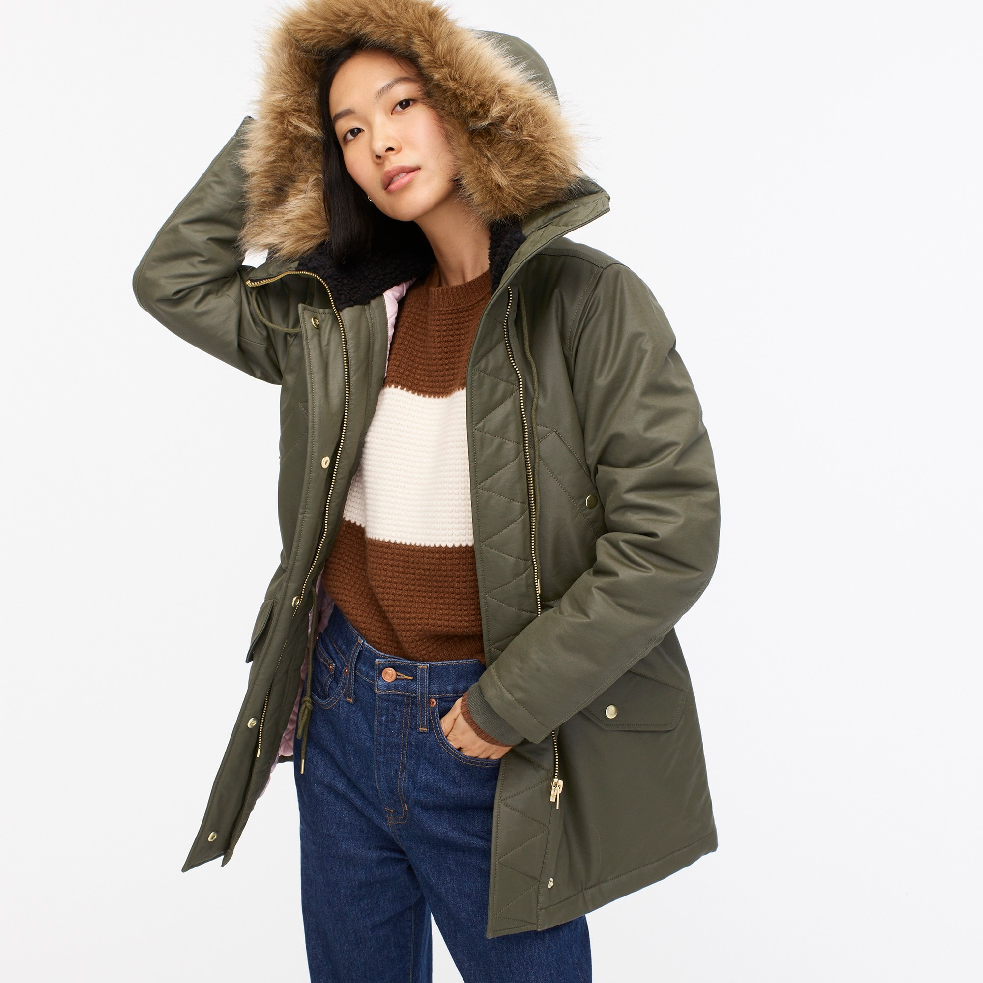 womens Perfect winter parka