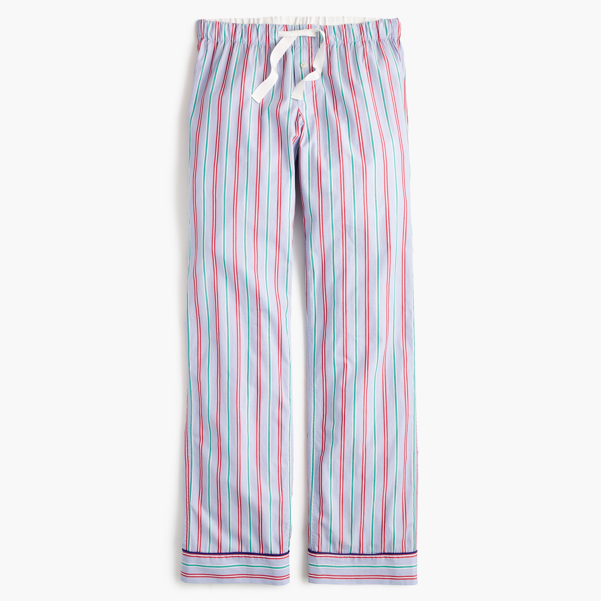 candy stripe pajama pant : women pajamas