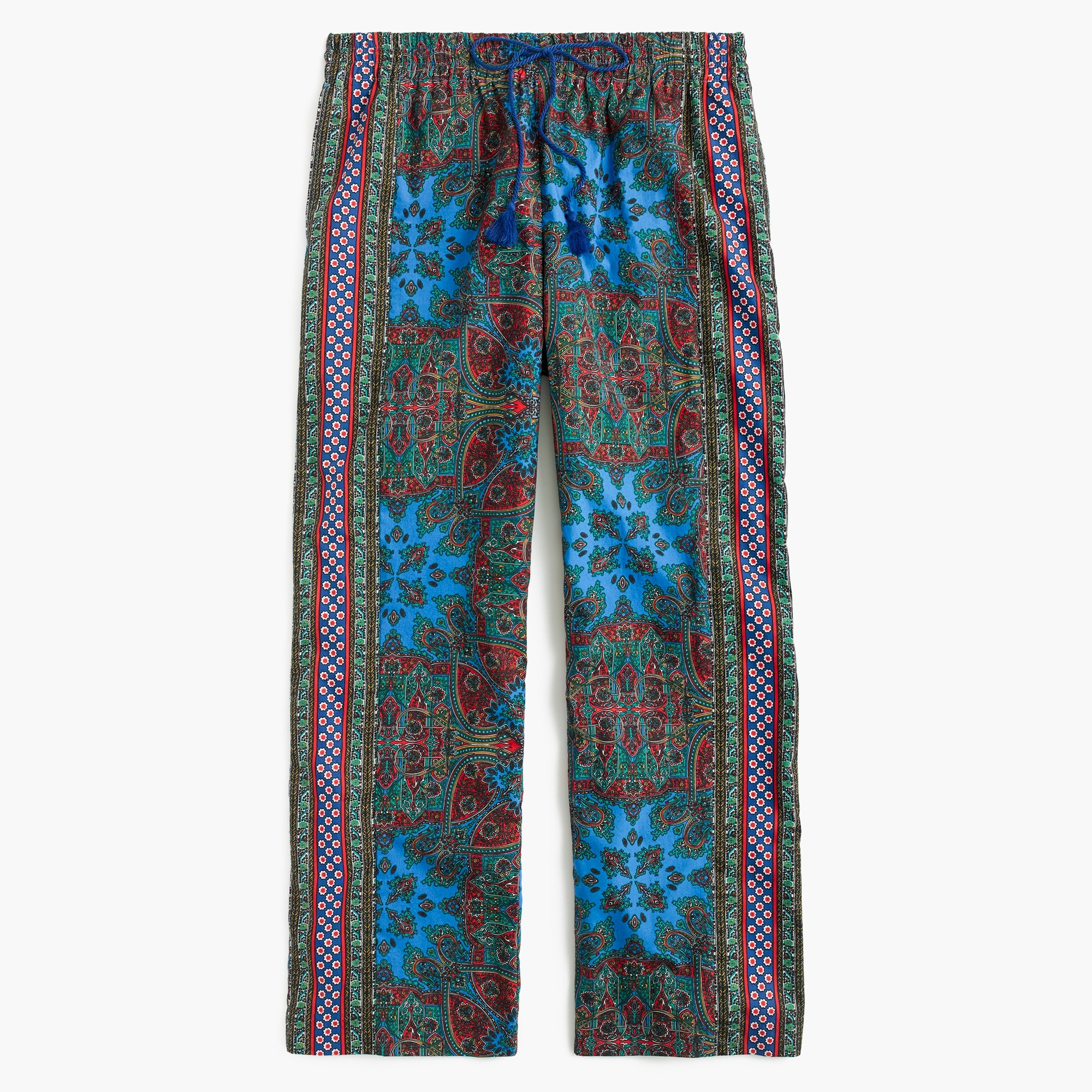 paisley cropped pant : women beachcoverups