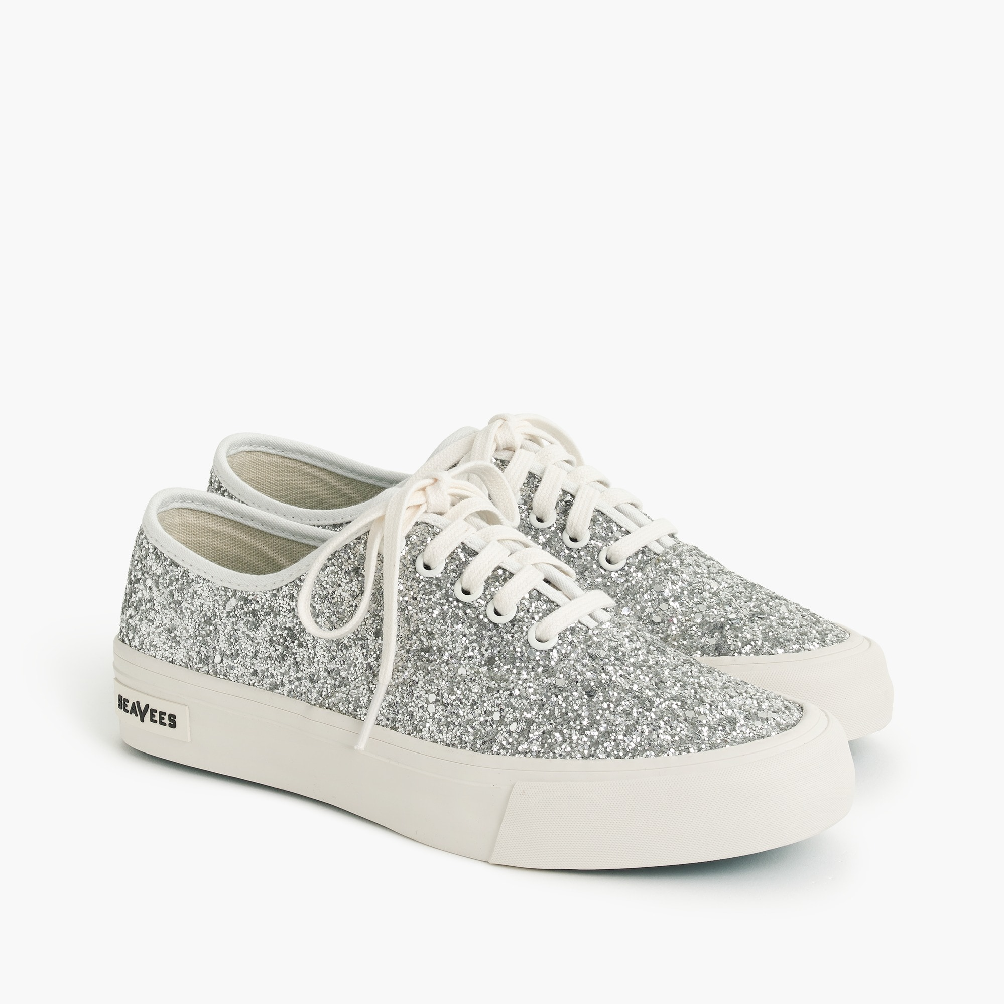 SeaVees® for J.Crew legend sneakers in glitter