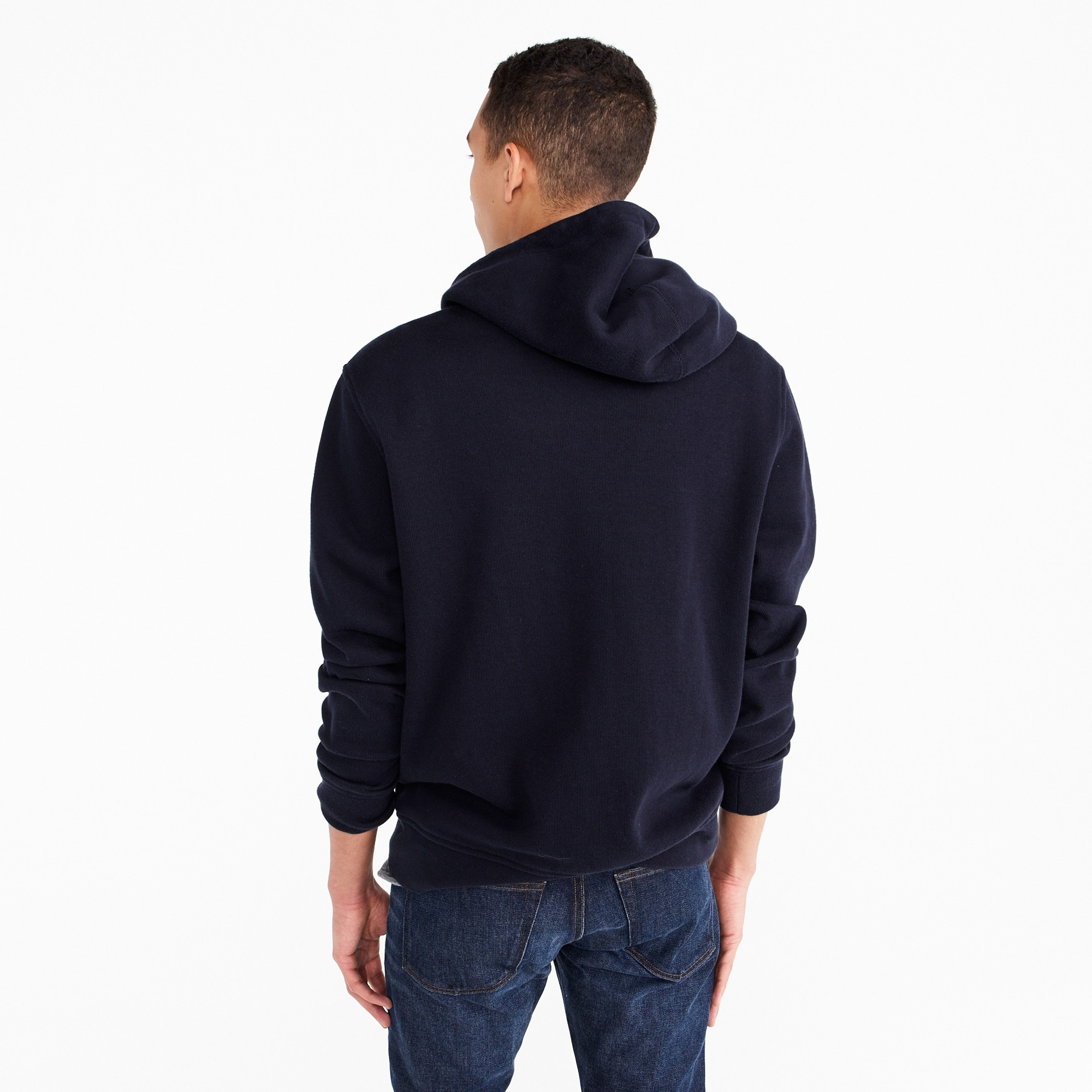 Image 2 for French rib full-zip hoodie