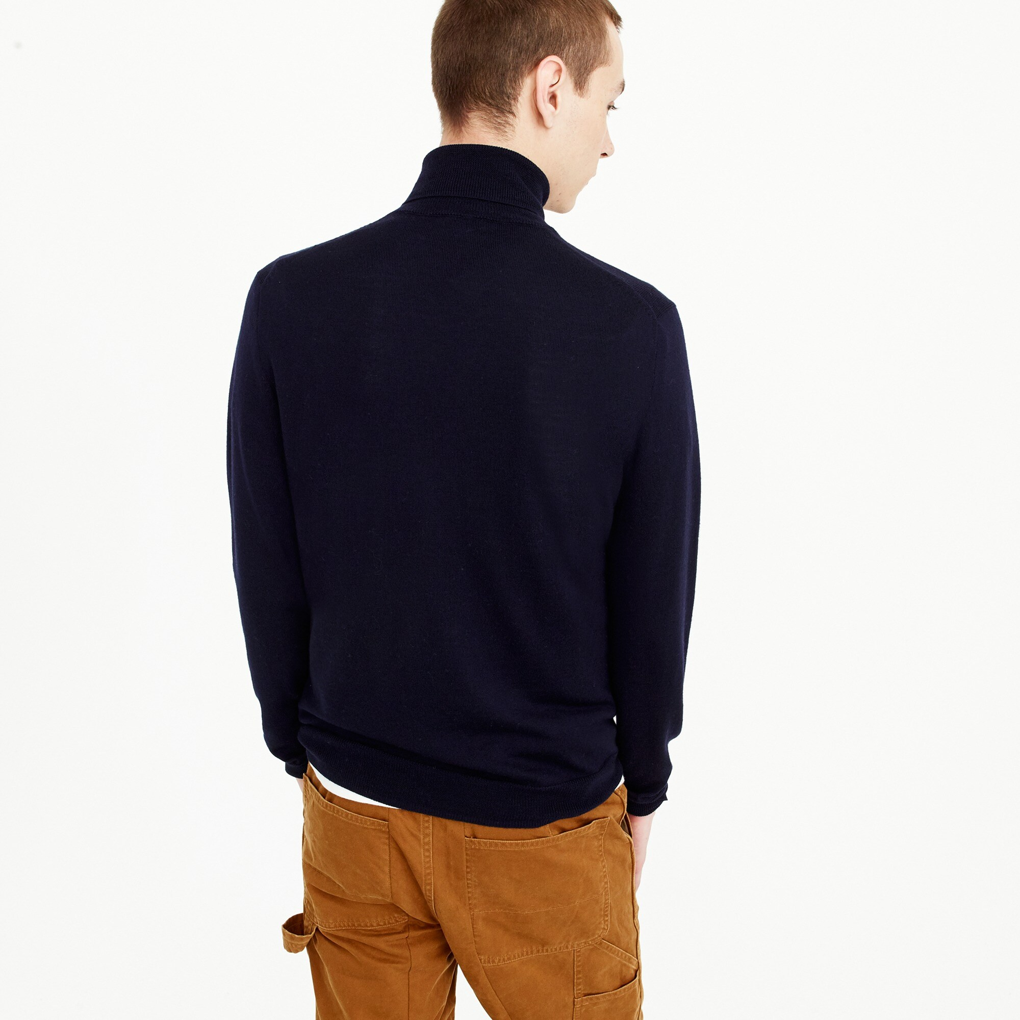 Italian merino wool turtleneck