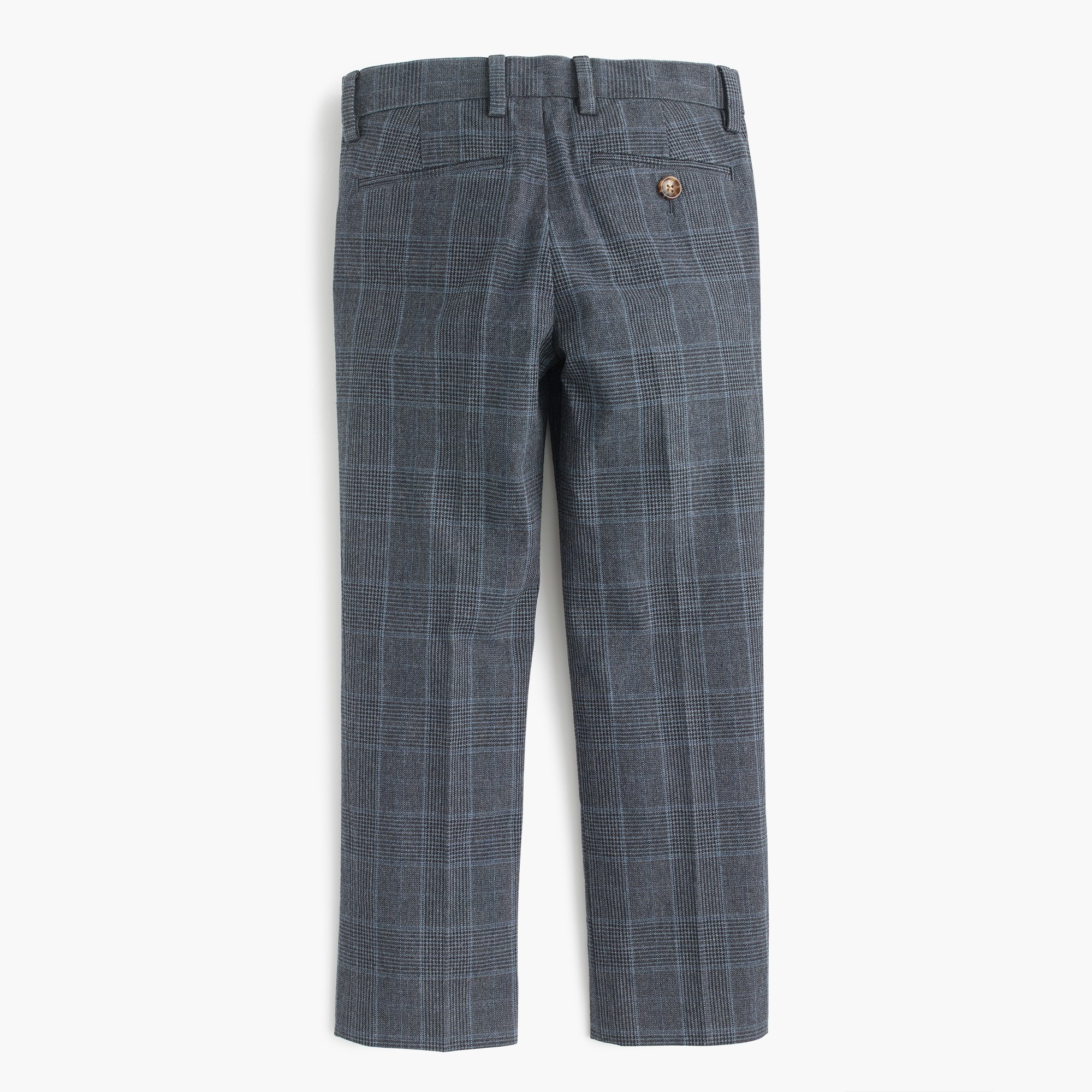 Image 2 for Boys' trousers in glen plaid