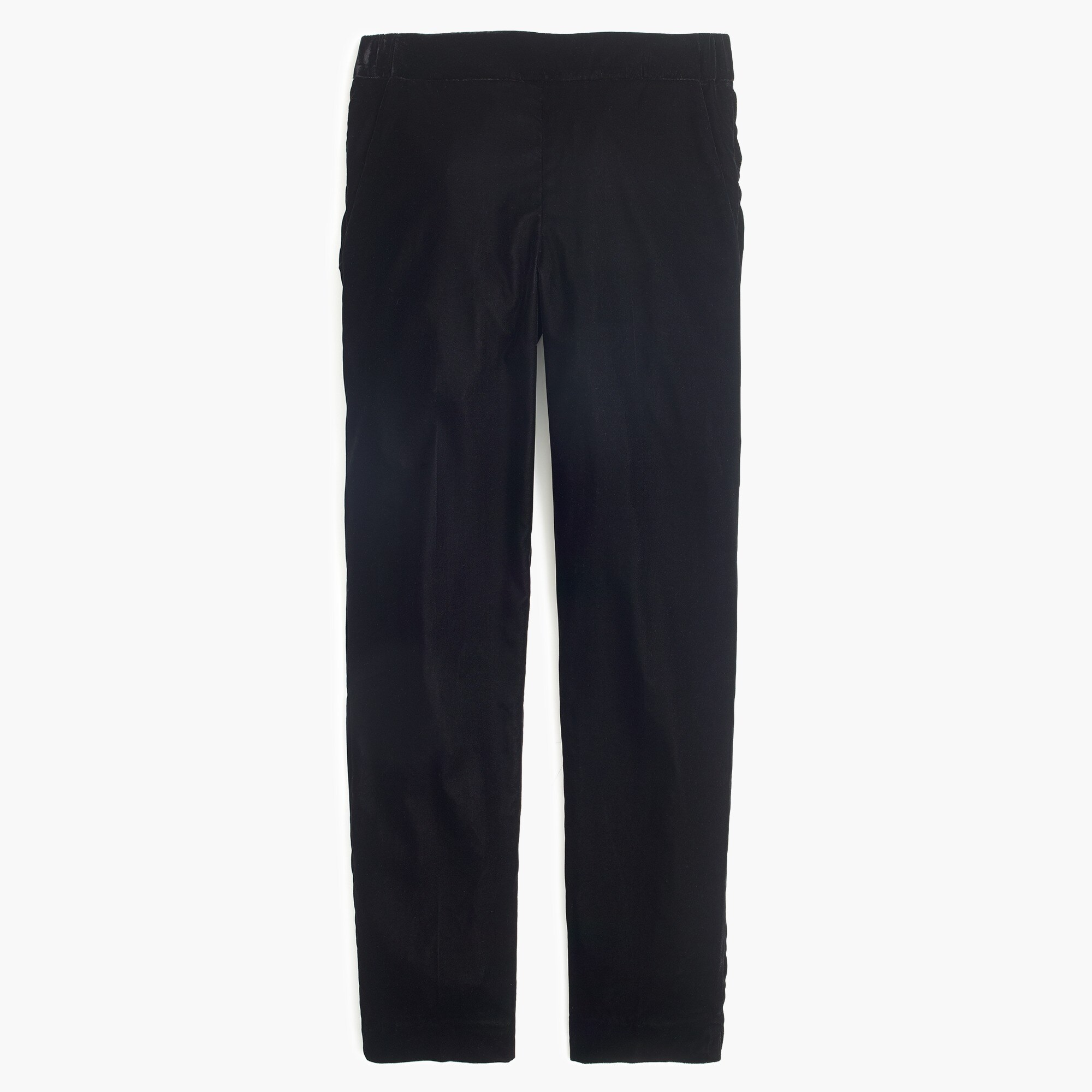 petite easy pant in velvet : women pants