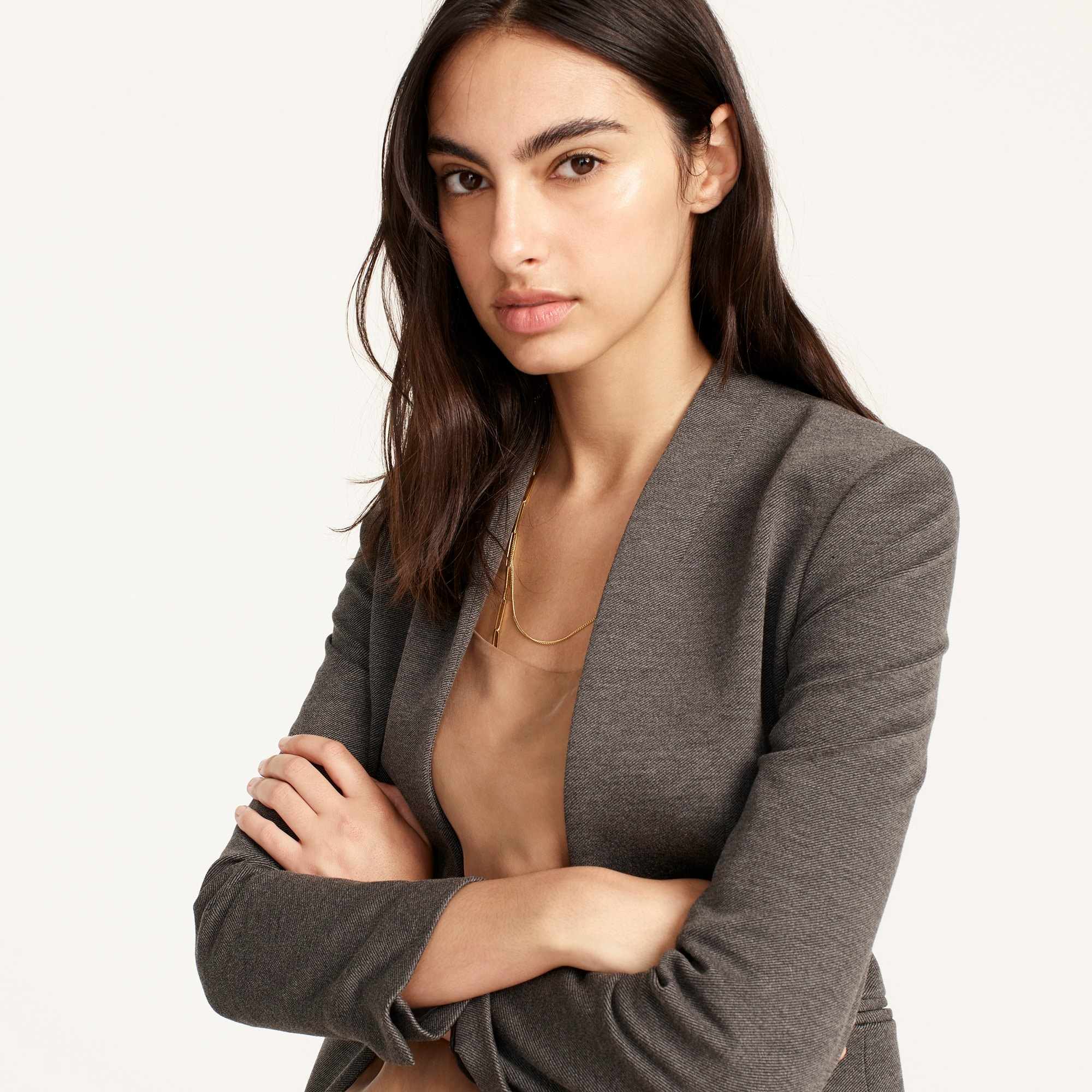Image 4 for Petite going-out blazer in stretch twill