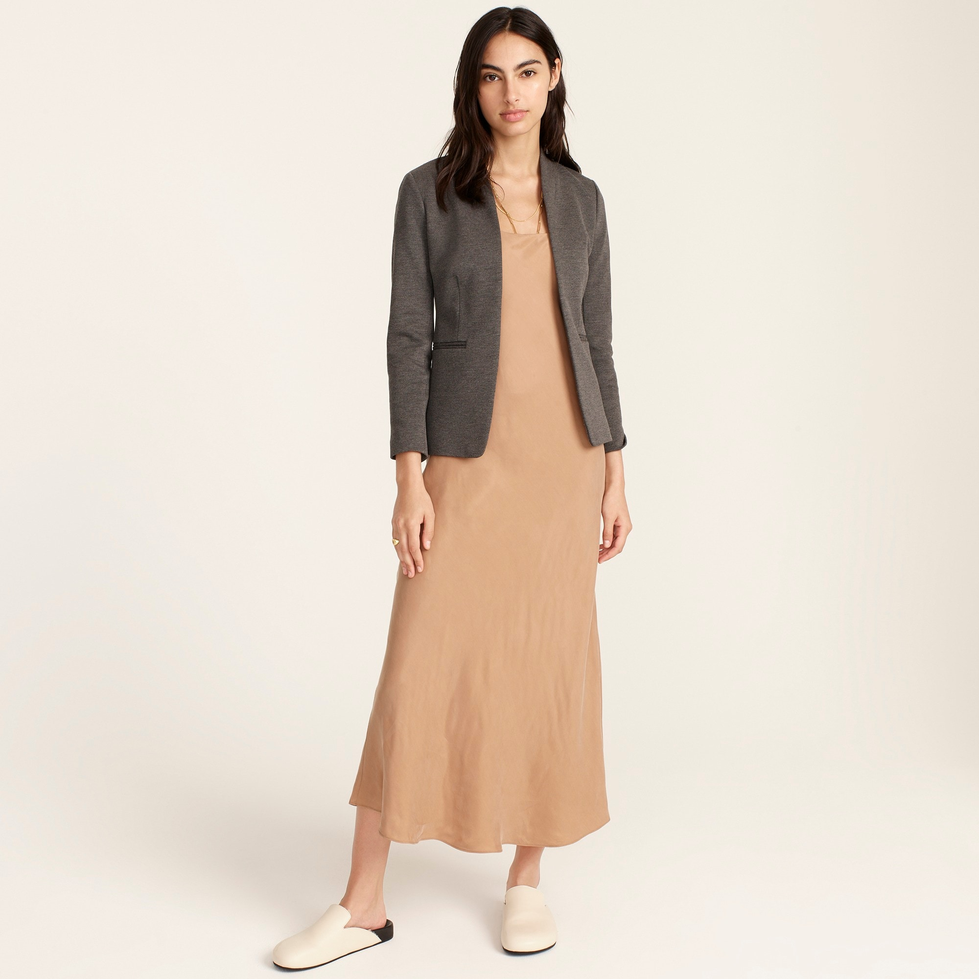Image 2 for Petite going-out blazer in stretch twill