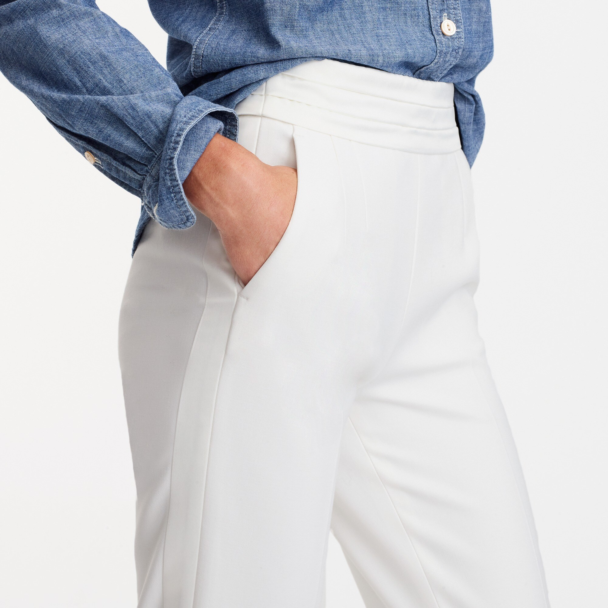 petite martie tuxedo pant in seasonless stretch : women pants