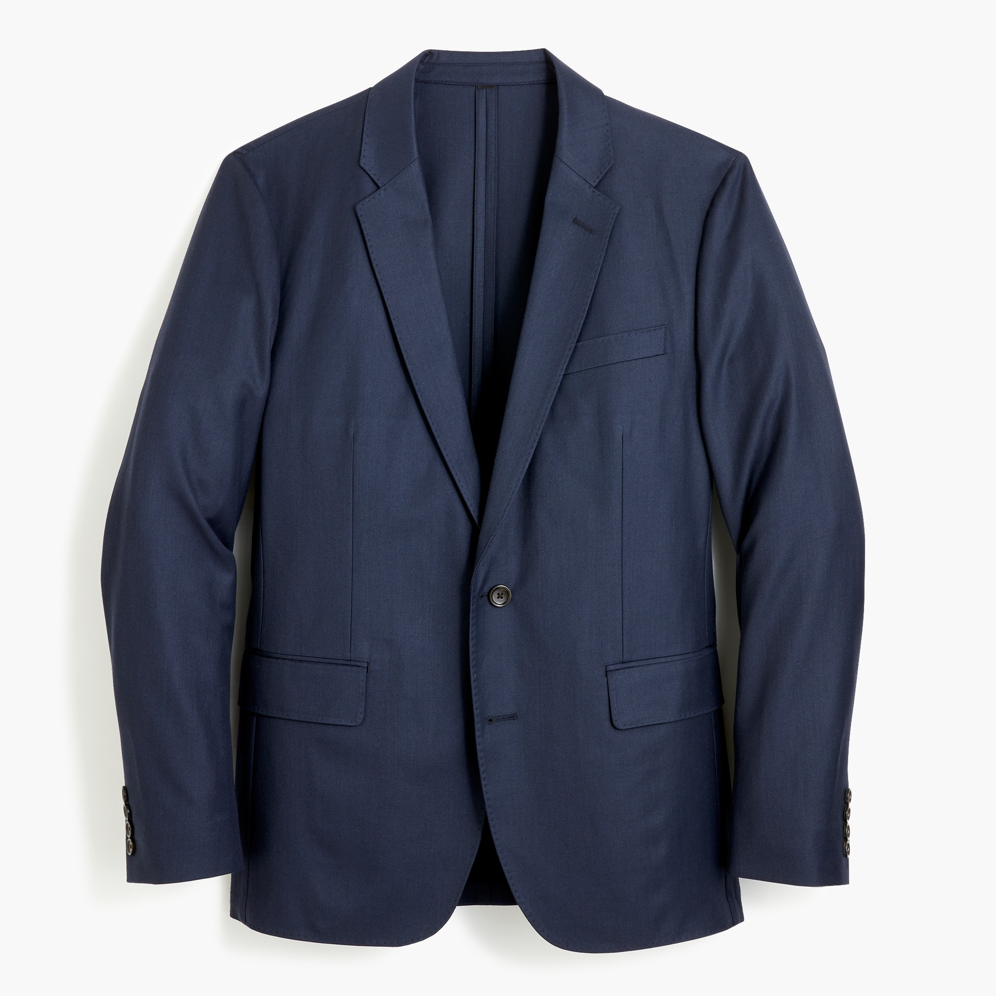 Image 2 for Ludlow Slim-fit unstructured blazer in American wool