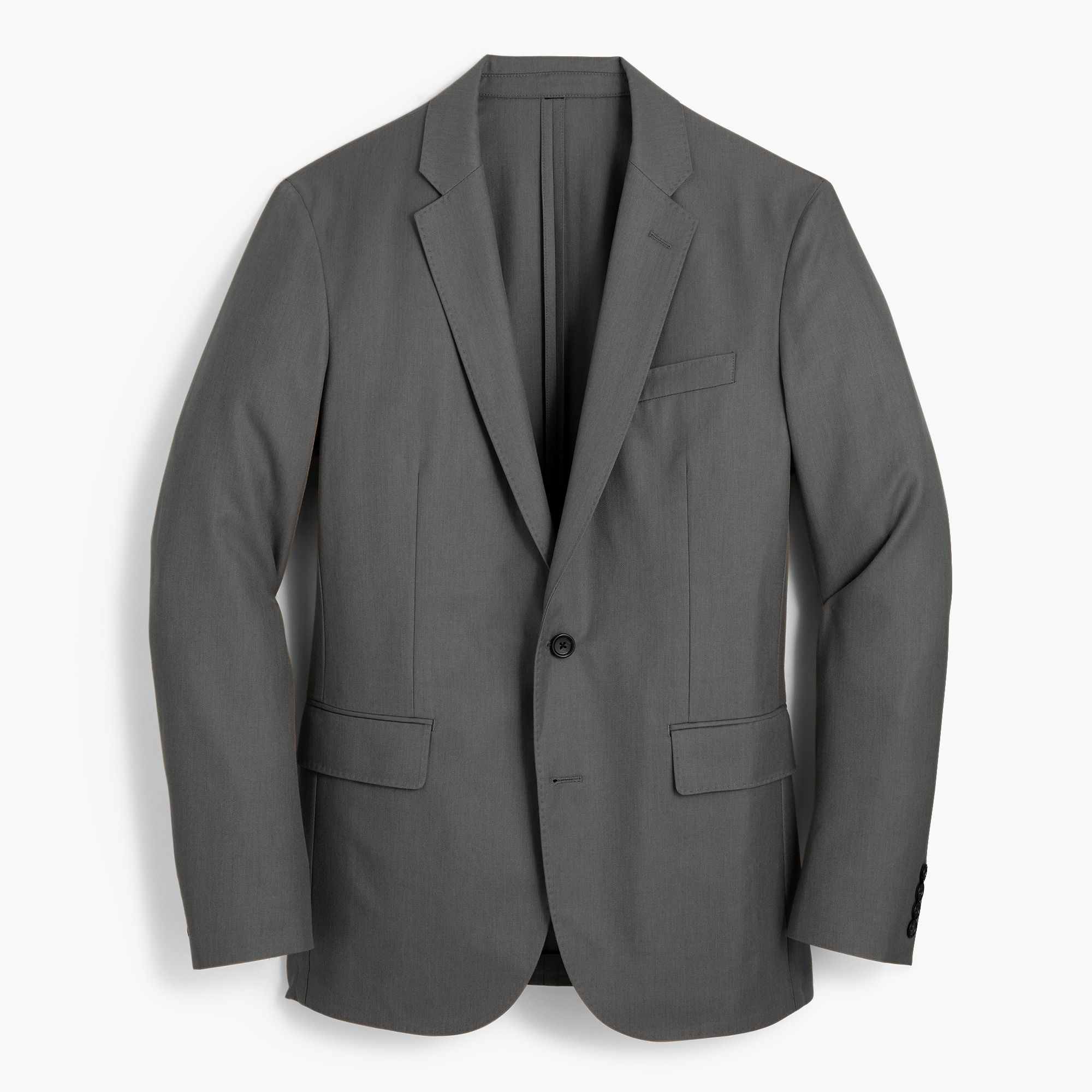 Ludlow Slim-fit unstructured blazer in American wool men blazers c